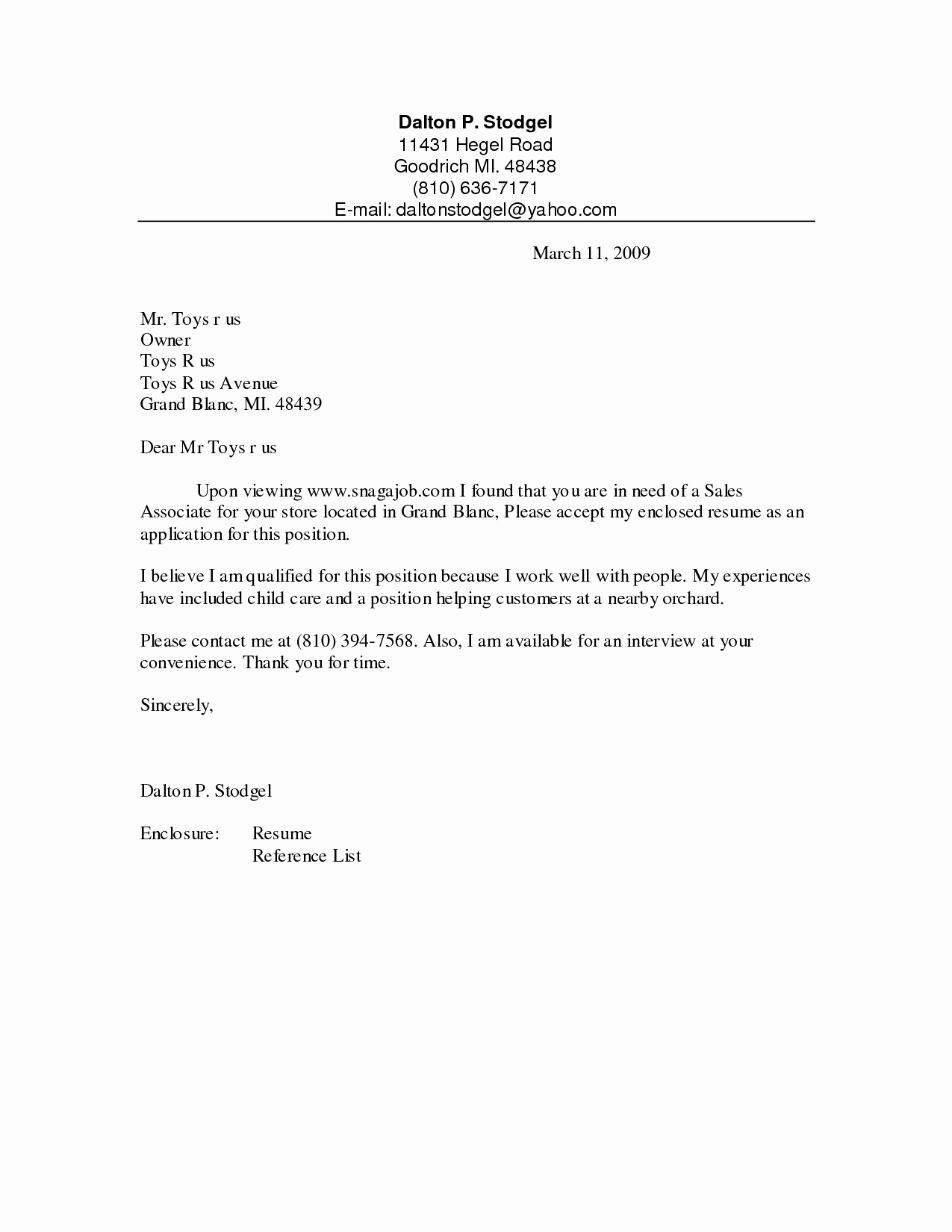 Cover Letter Template Retail Sales assistant - Cover Letter for Sales assistant Job Luxury Cover Letter for Grocery