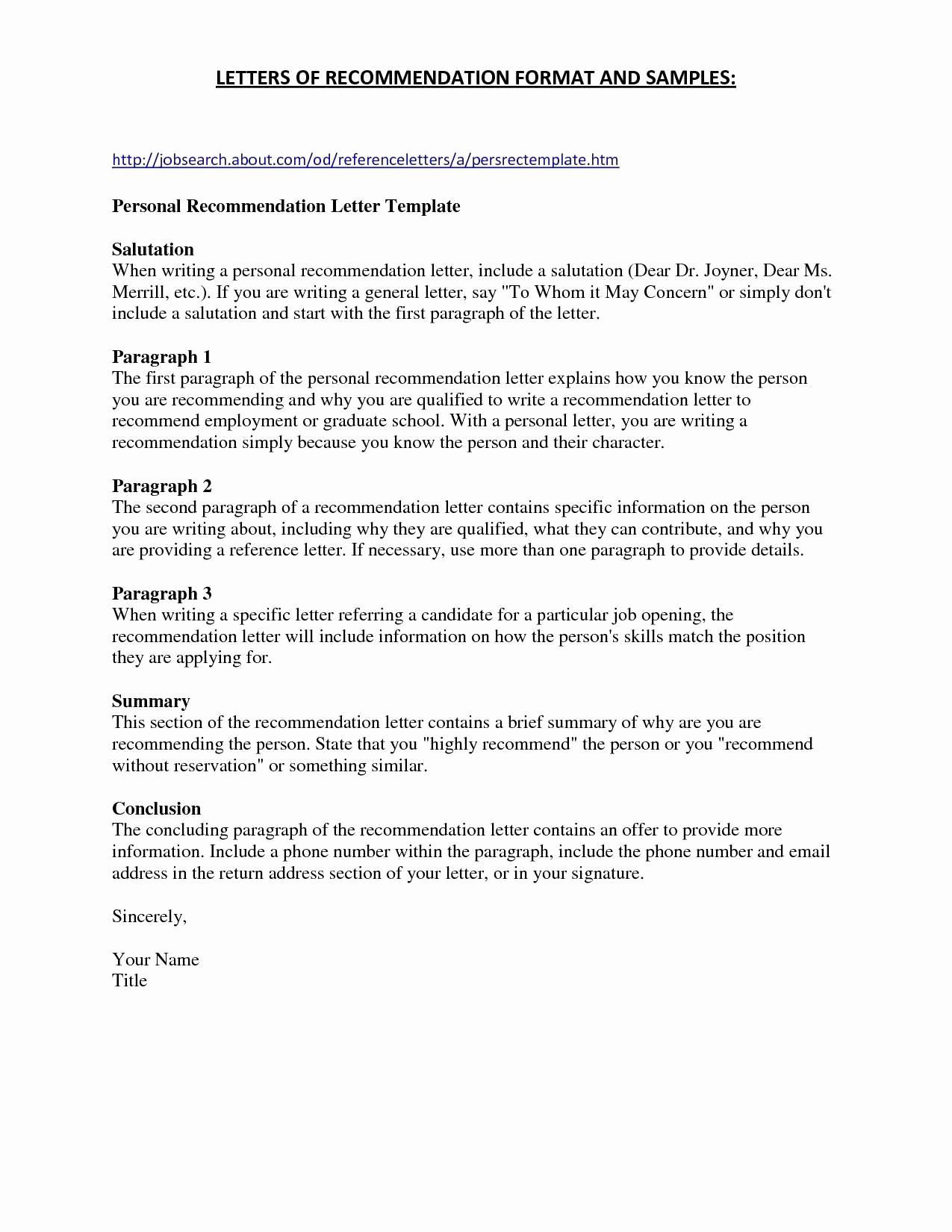 Generic Cover Letter Template Samples