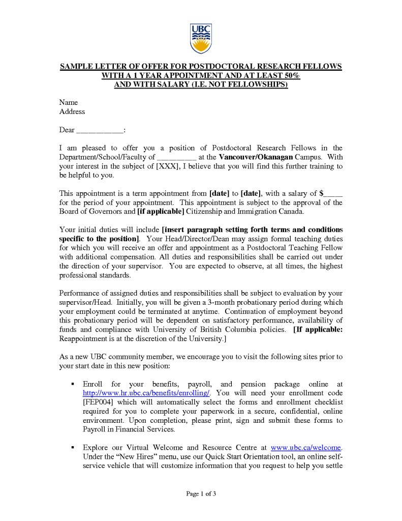 New Board Member orientation Welcome Letter Template - Cover Letter Postdoc Acurnamedia