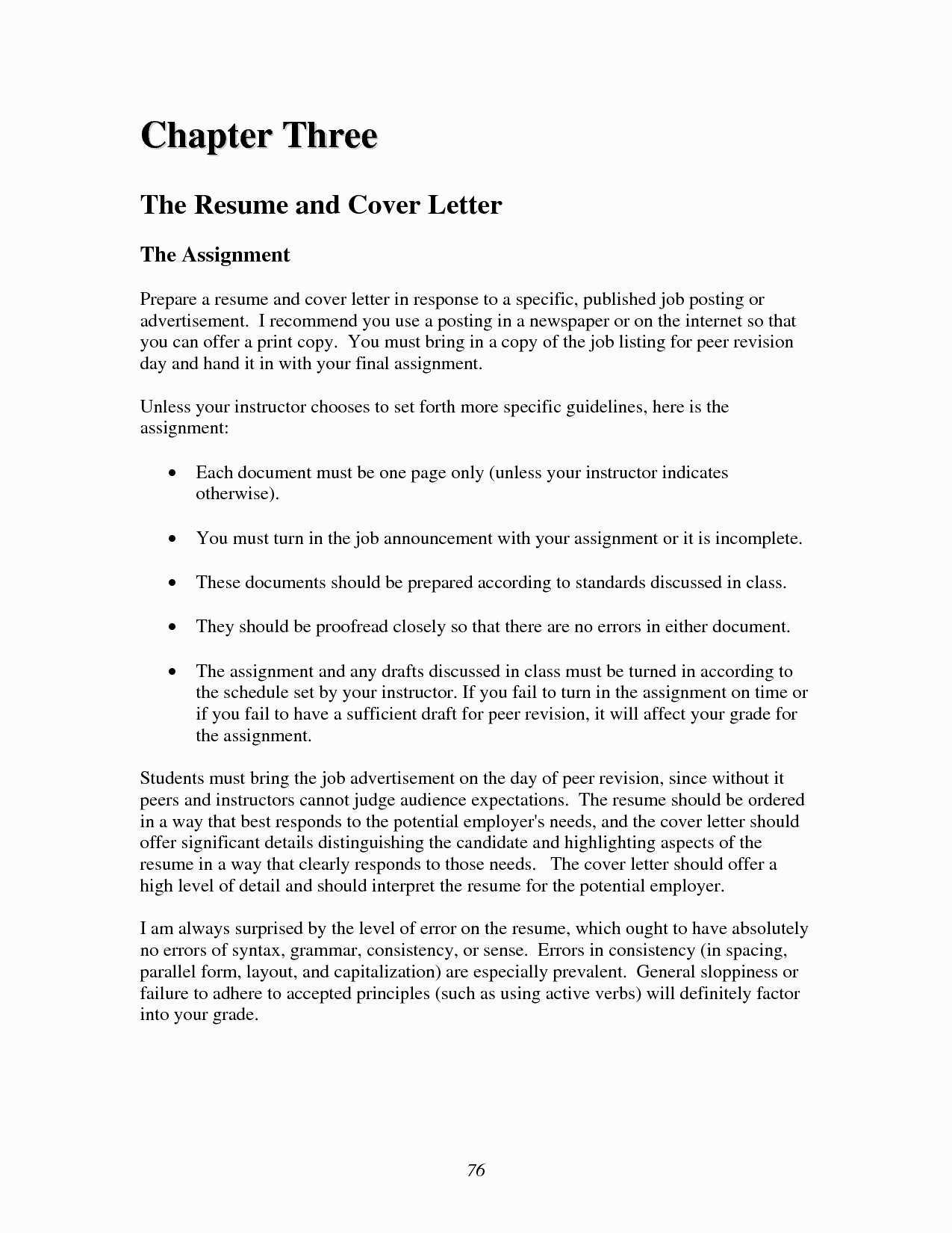 resume cover letter australia