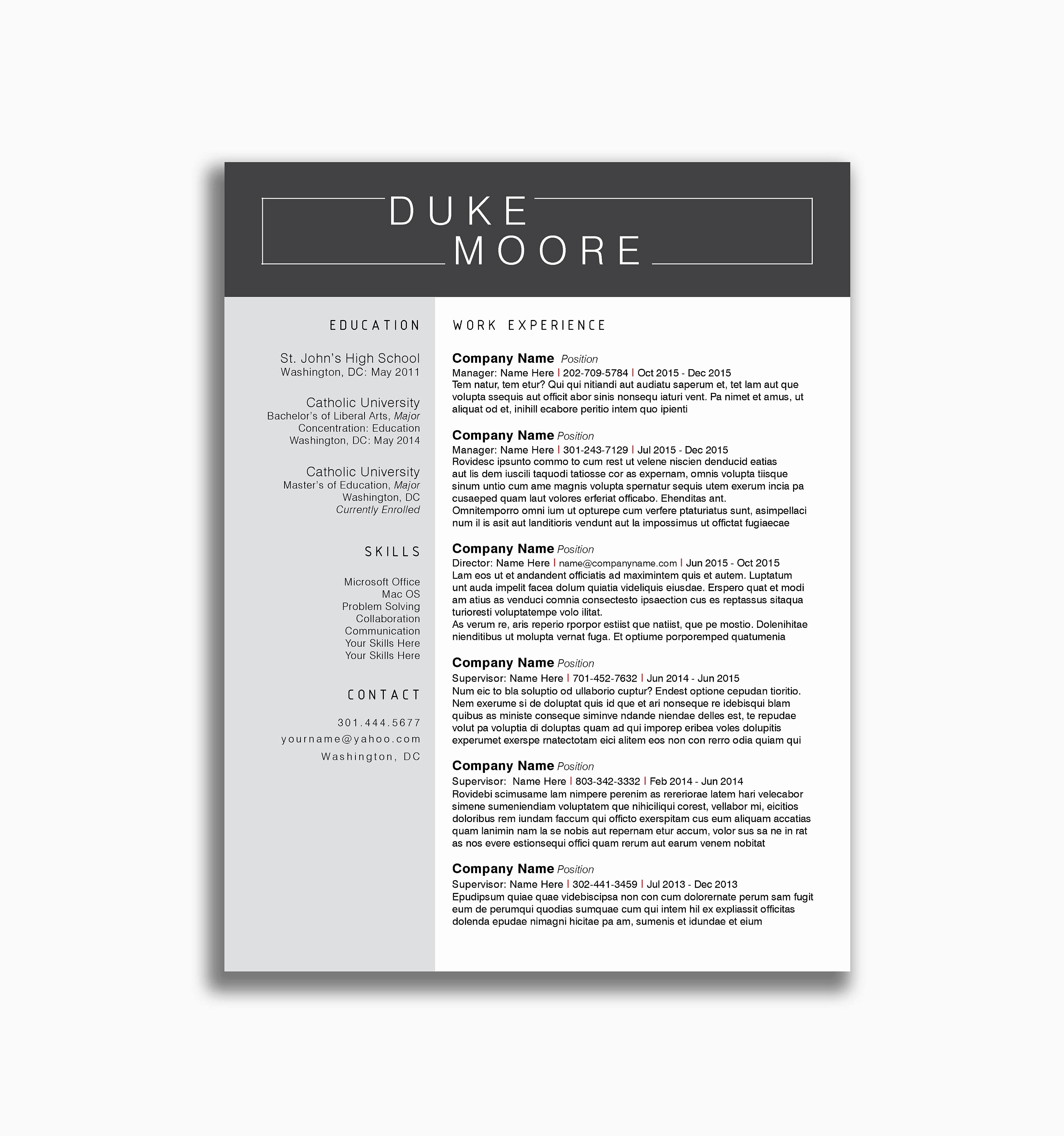 Cover Letter Template Doc - Cover Letter Template Doc