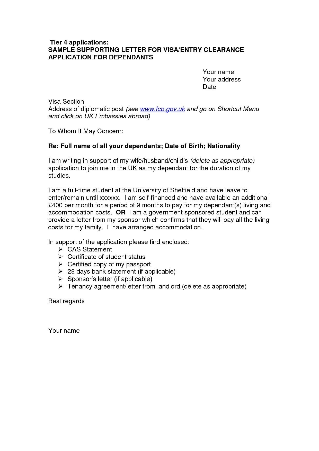 Sponsorship Cover Letter Template - Covering Letter format tourist Visa Australia New Australia Visitor