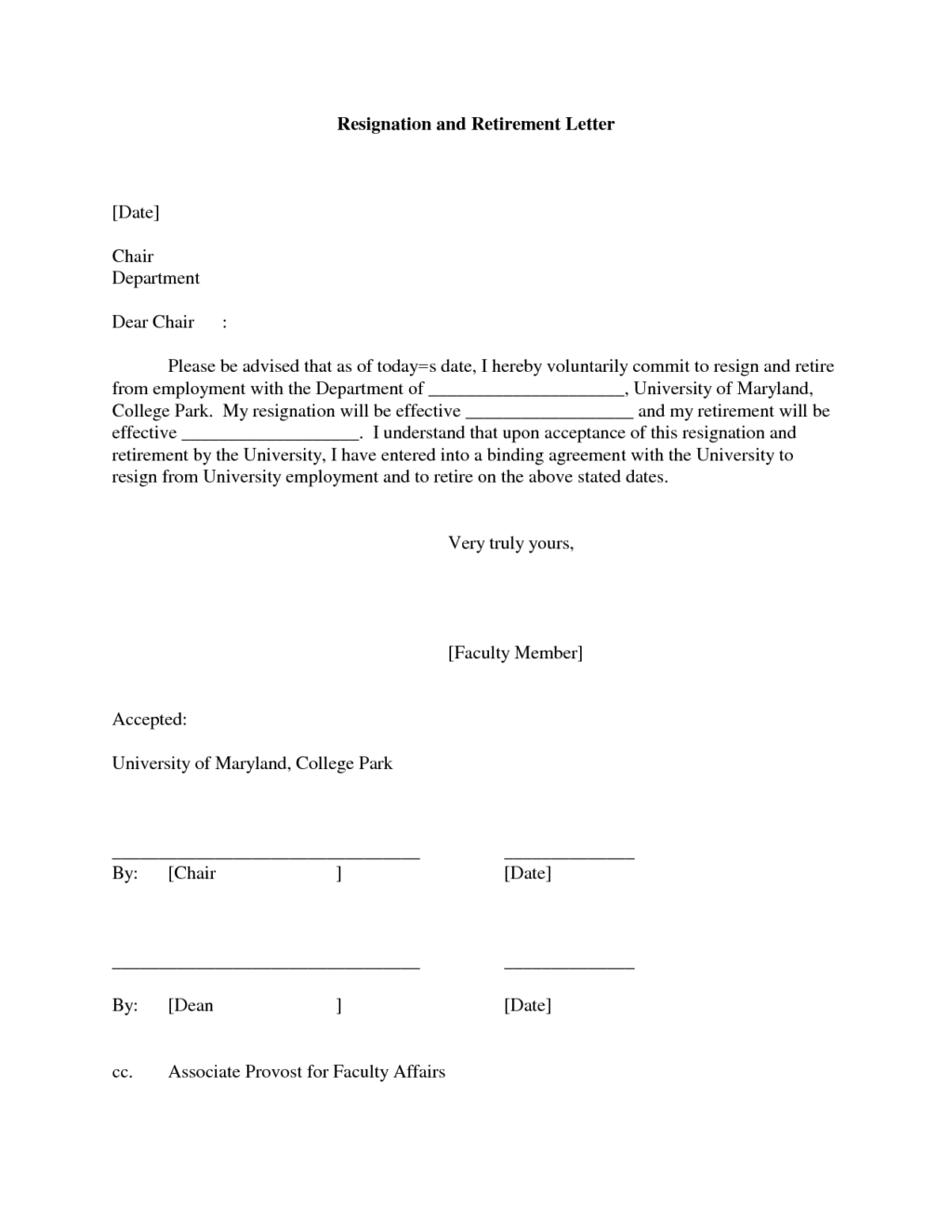 retirement resignation letter template free coverr very simple retirement resignation example for teacher sample
