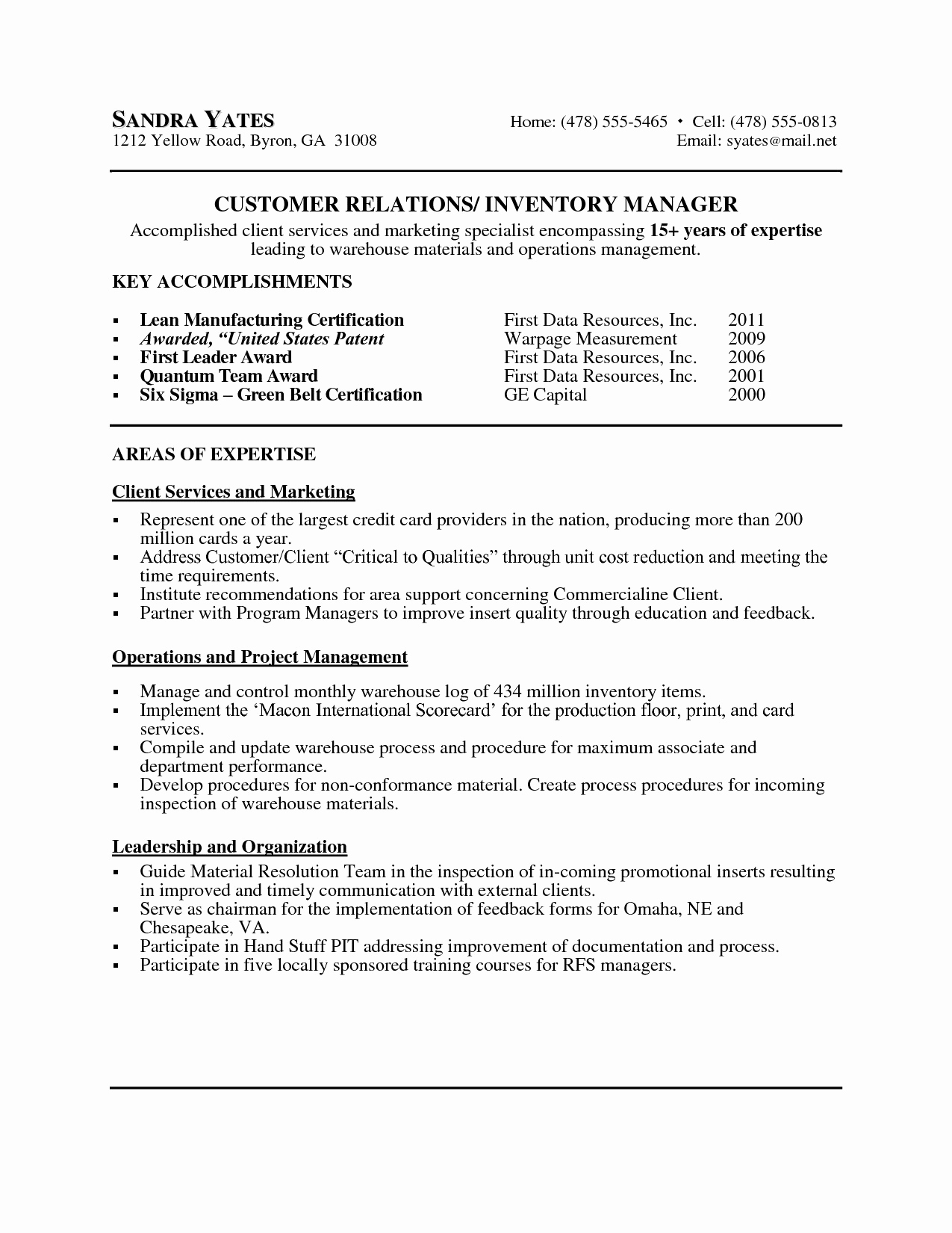 Customer Service Cover Letter Template - Customer Service Cover Letter Examples Luxury American Resume Sample