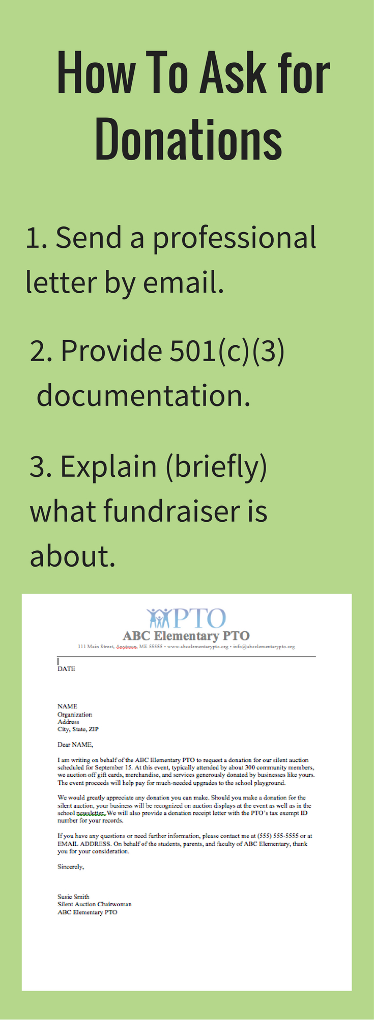 Fundraising Request for Donation Letter Template - Download Our Free Donation Letter Request Template