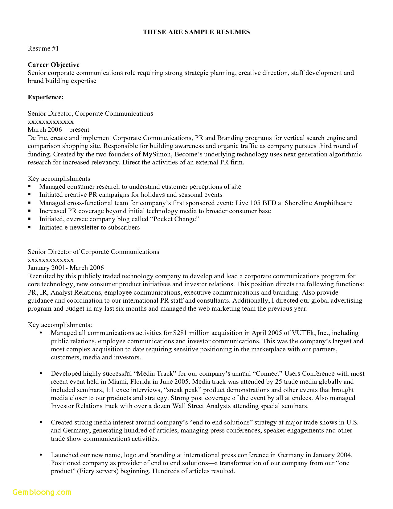 Investor Letter Template - Electronic Resume Templates Free Download Professional Job Resume