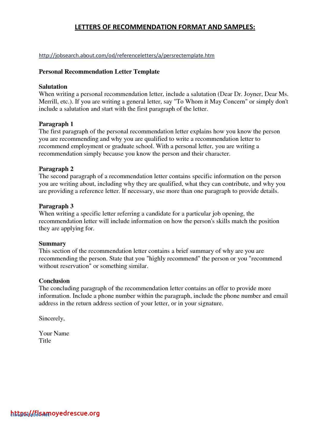 609 Letter Template - Elegant Letter Sample format Doc