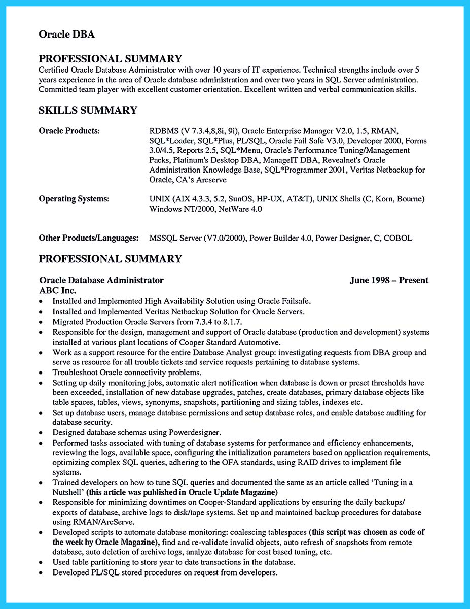 Failed Background Check Letter Template - Entry Level Database Administrator Resume Unix Admin Resume Entry