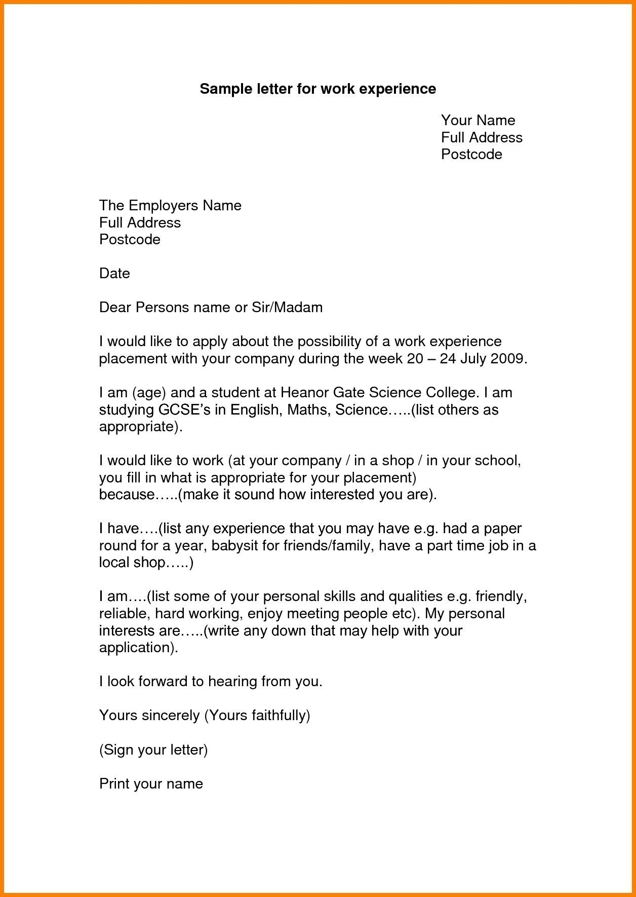 Write up letter for employee template examples letter template write up letter for employee template example letter request part time work new sample certificate spiritdancerdesigns Gallery