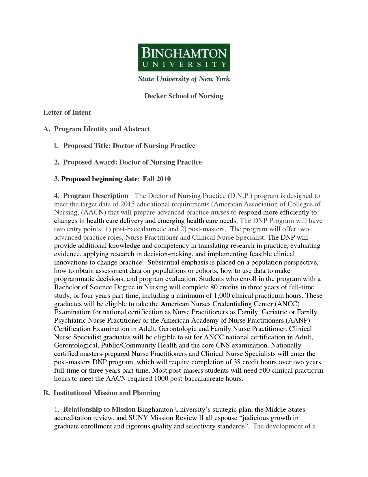 Special Needs Letter Of Intent Template - Examples Letter Intent for Graduate School Ideas Bunch