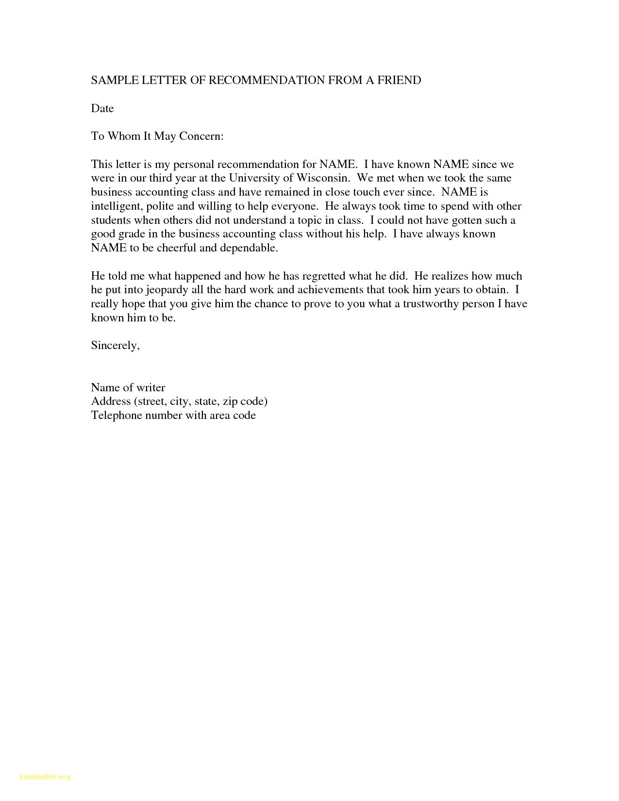 Immigration Reference Letter Template - Examples Letters Re Mendation for Immigration S Concept