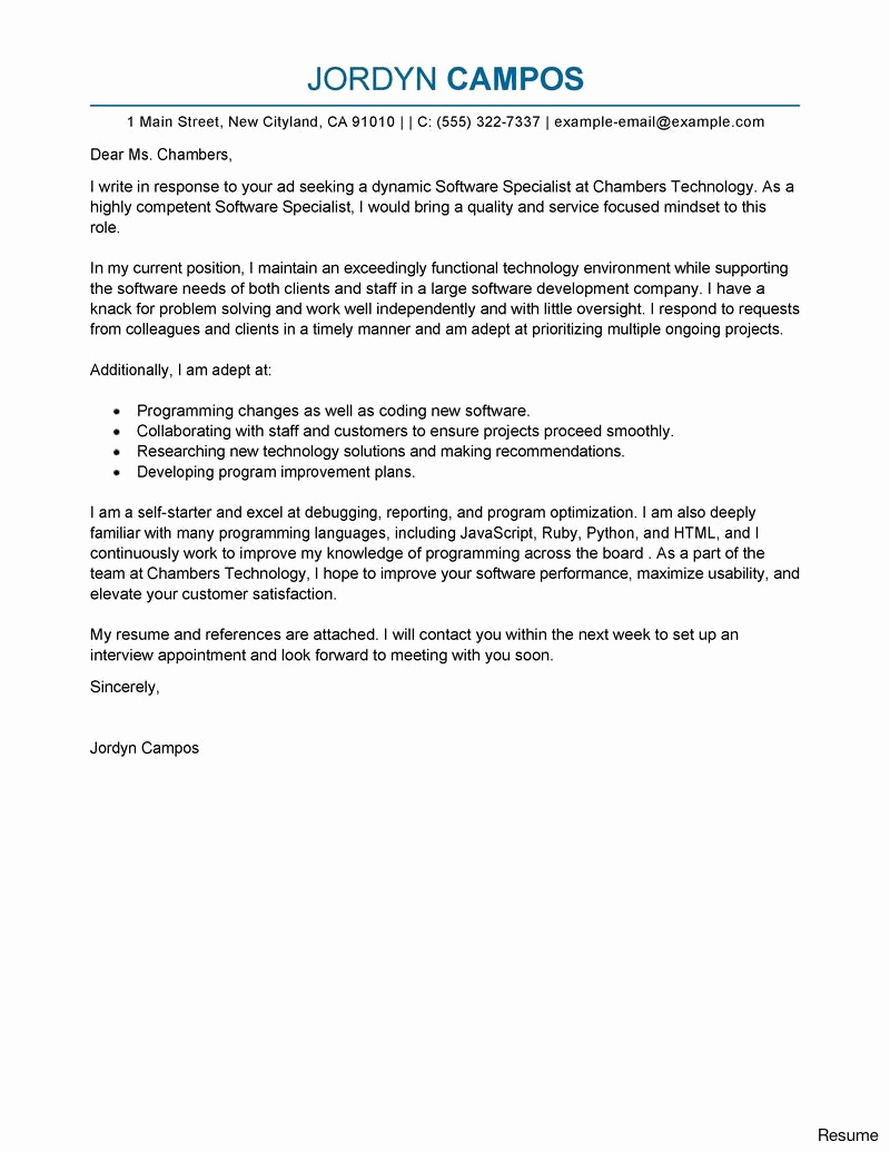 customer service cover letter template example-Excellent Customer Service Cover Letter 21 Economic Development Specialist Cover Letters Best Od Specialist Idea 18-n