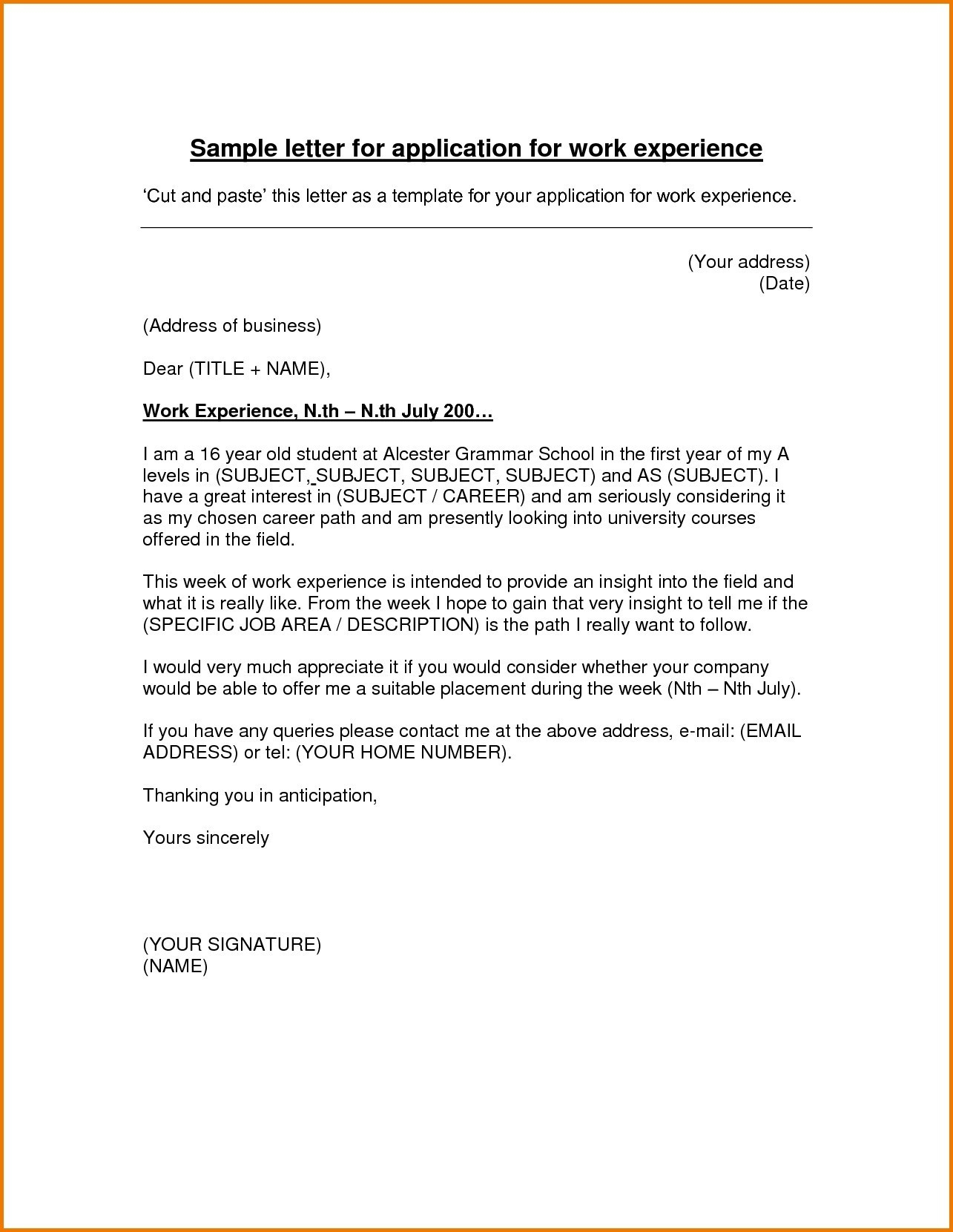 Hvac Cover Letter Template Collection | Letter Template ...