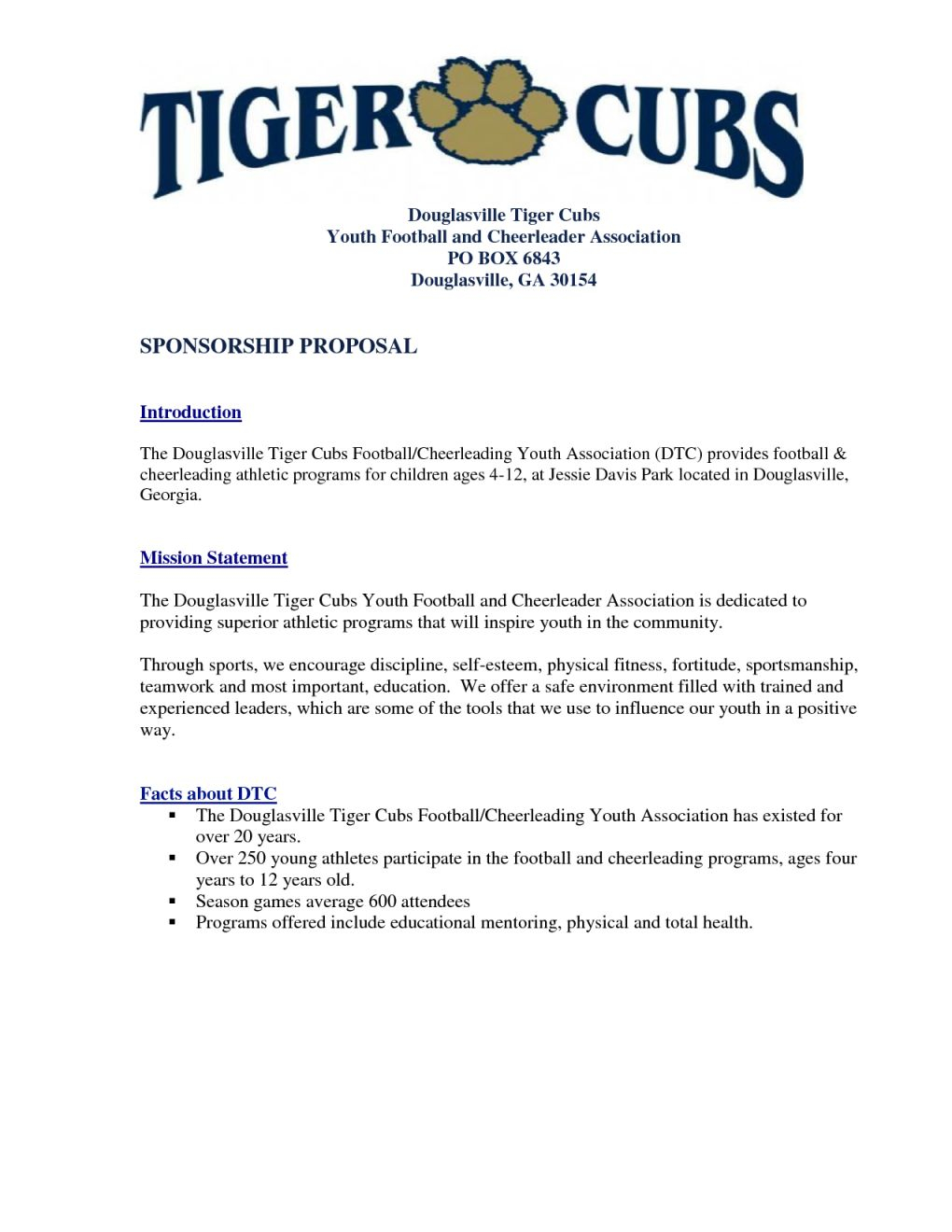 Youth Baseball Sponsorship Letter Template - Fabulous Sports Sponsorship Proposal Template Ch06 – Documentaries