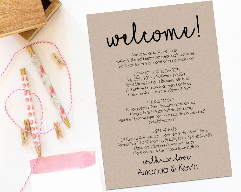 Welcome Letter Template for Wedding Guests - Fantastic Wel E Message for Wedding Invitation Vignette