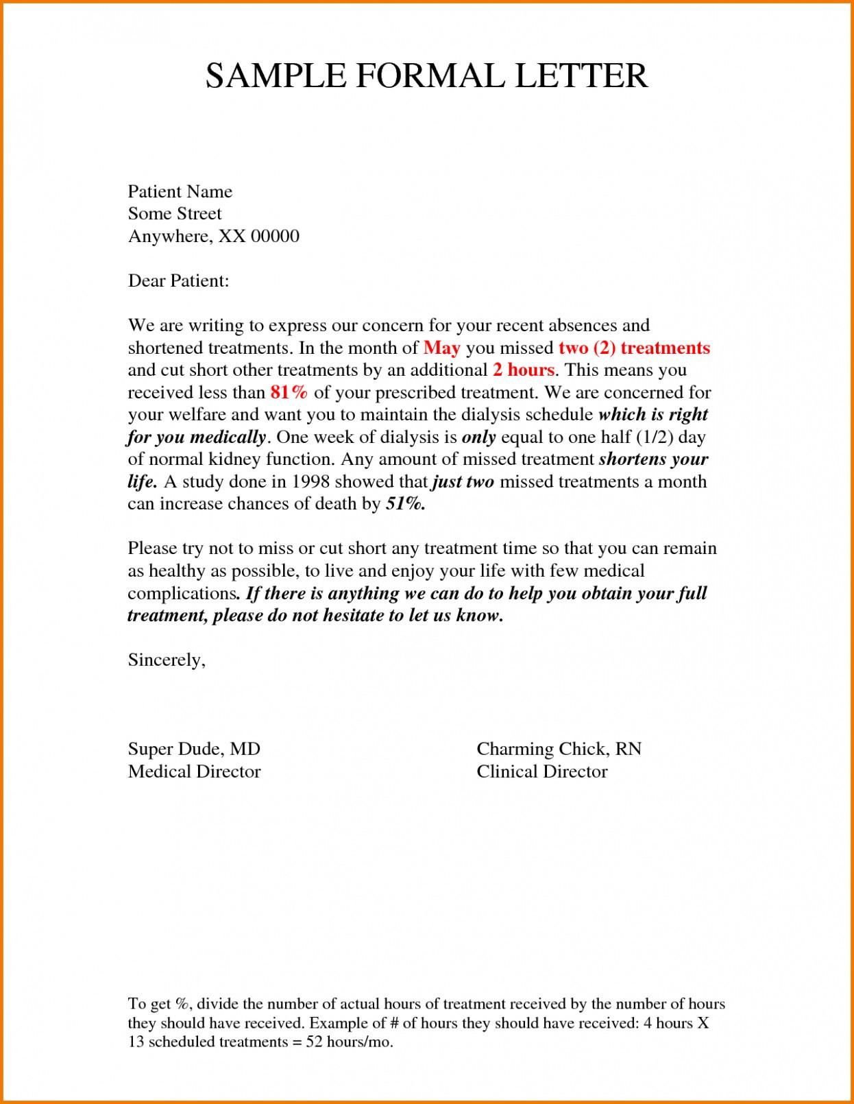 Formal Petition Letter Template - formal Letter format Request Valid Kick ass Informal Letter Short