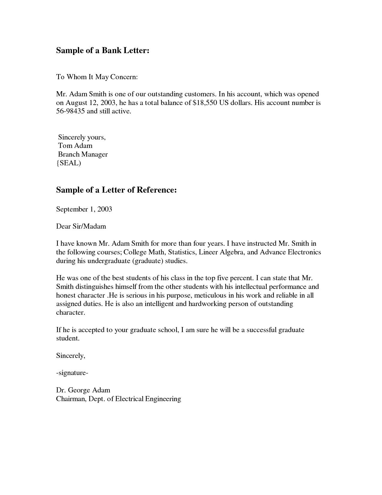 Business Letter Template Via Email Formal Official Mail Signature