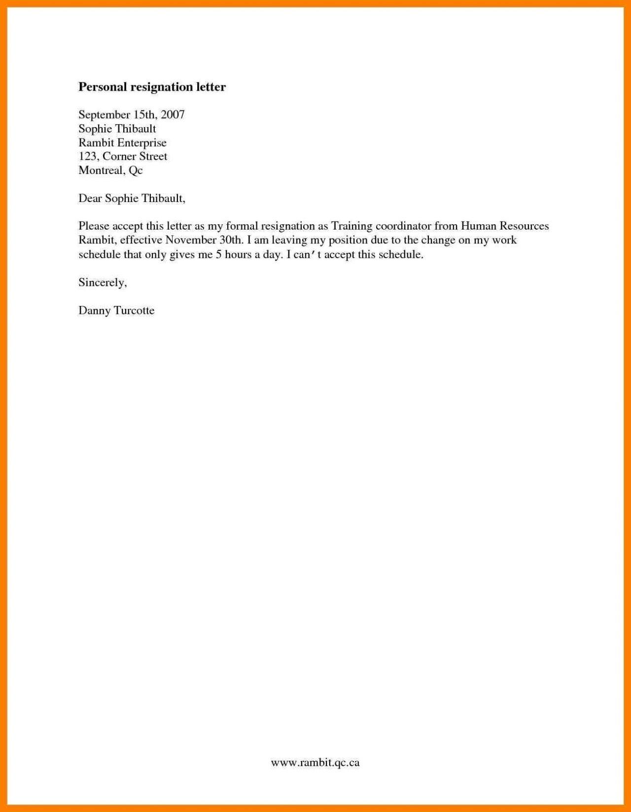letter of resignation letter template formal resignation letter template e month notice copy cards