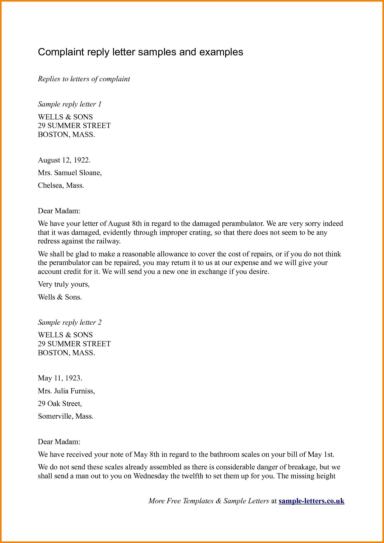 Reply to Patient Complaint Letter Template - format A Legal Plaint Letter New Legal Reply Letter format New