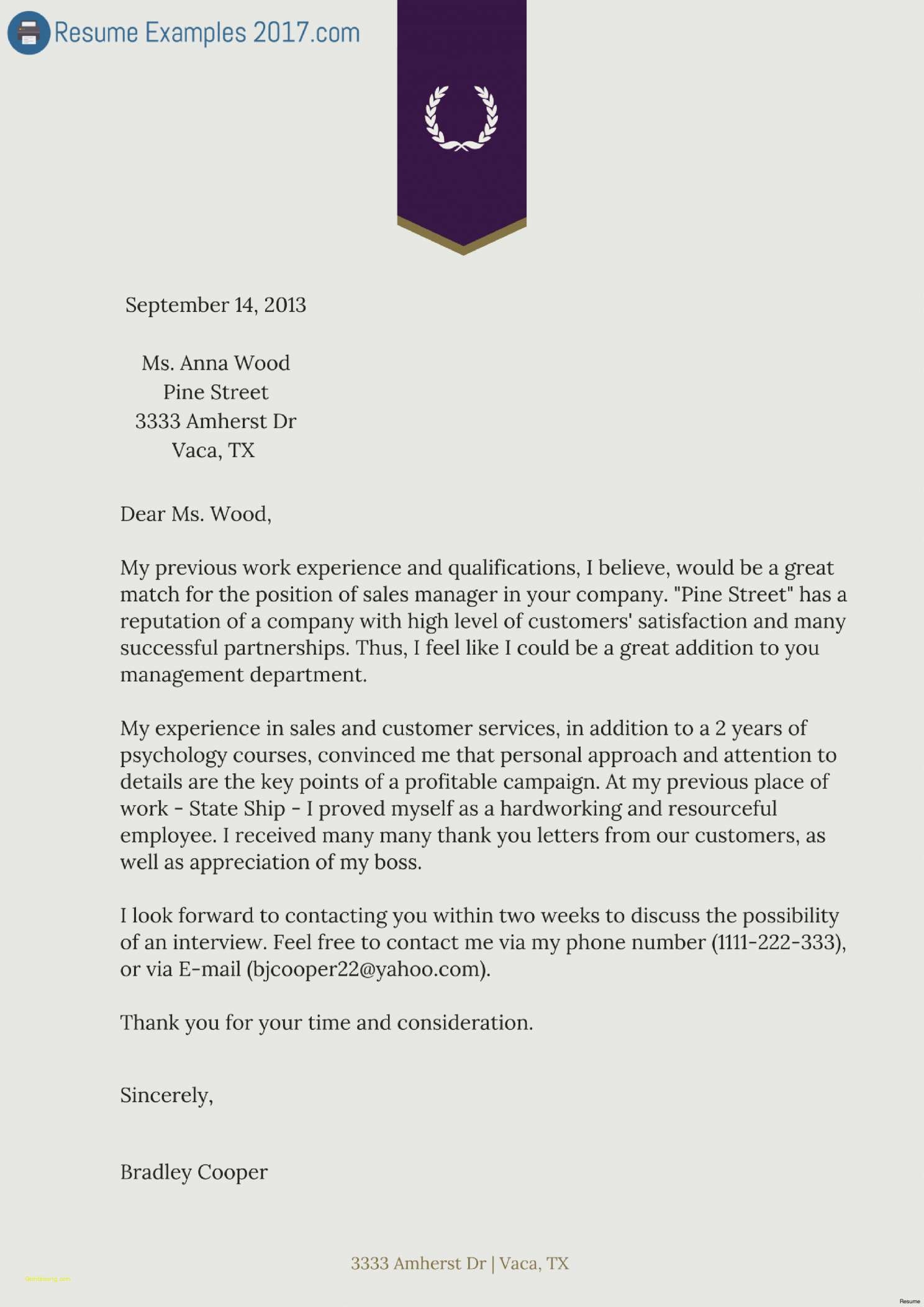 Customer Satisfaction Letter Template - Free Acting Resume Template Lovely Acting Cover Letter Examples