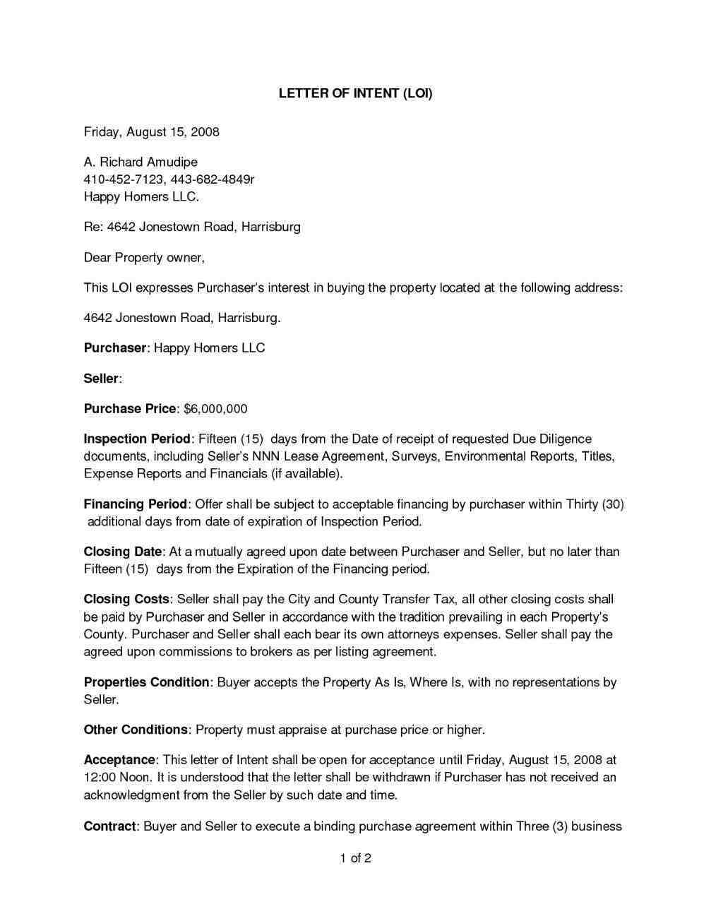 Expired Listing Letter Template - Free Cover Letter Templates Letter to Seller From Er Template