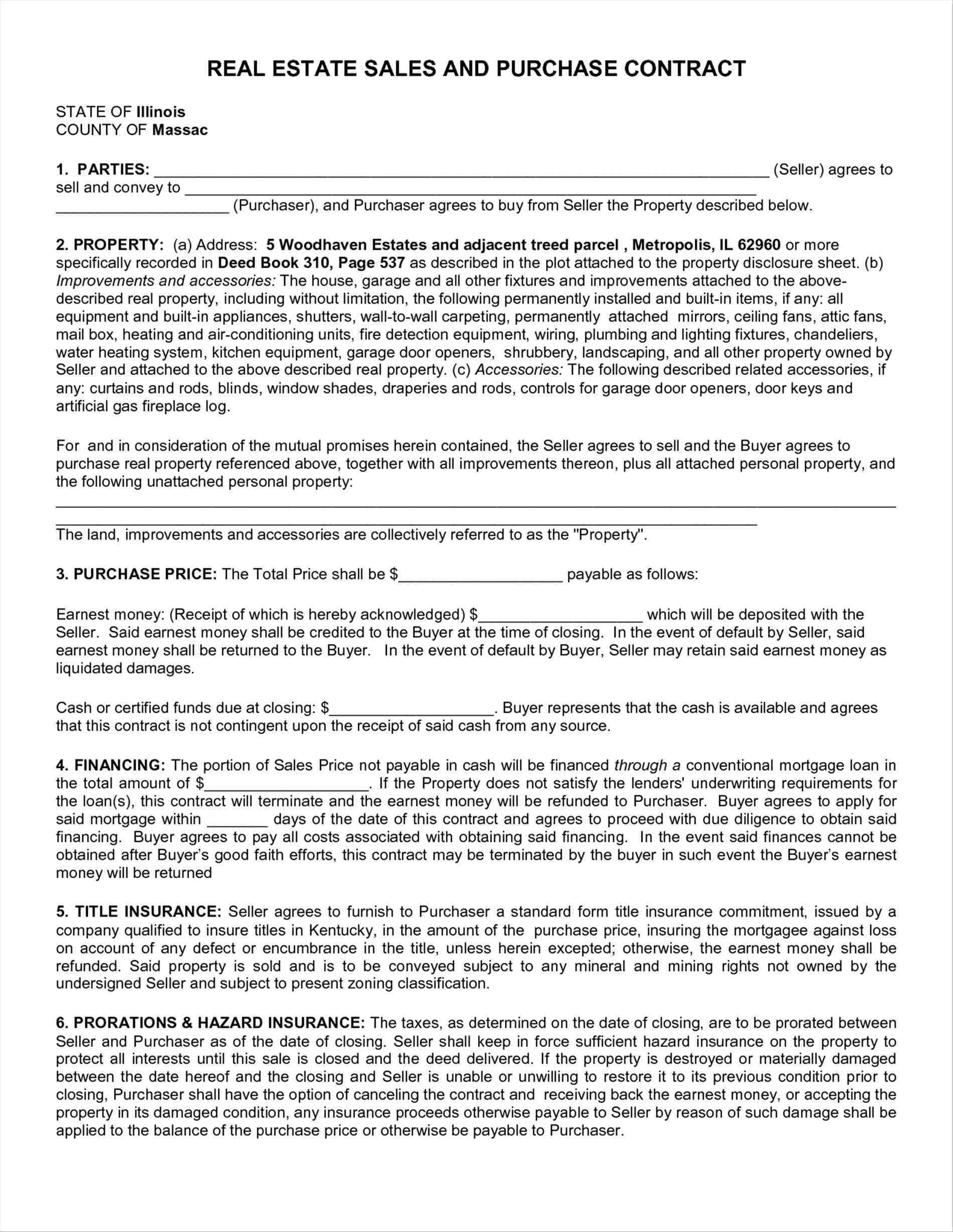 Fsbo Offer Letter Template Collection | Letter Template Collection