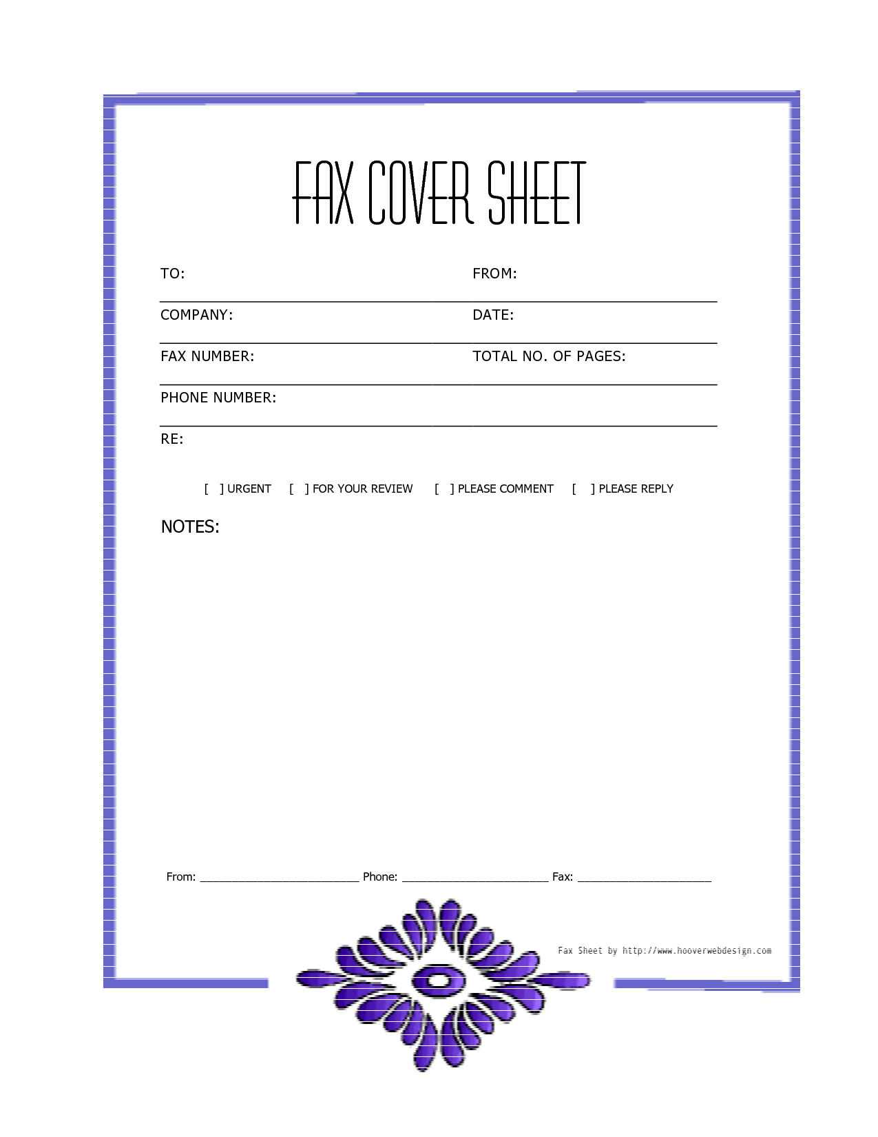 Free Fax Cover Letter Template Word - Free Downloads Fax Covers Sheets