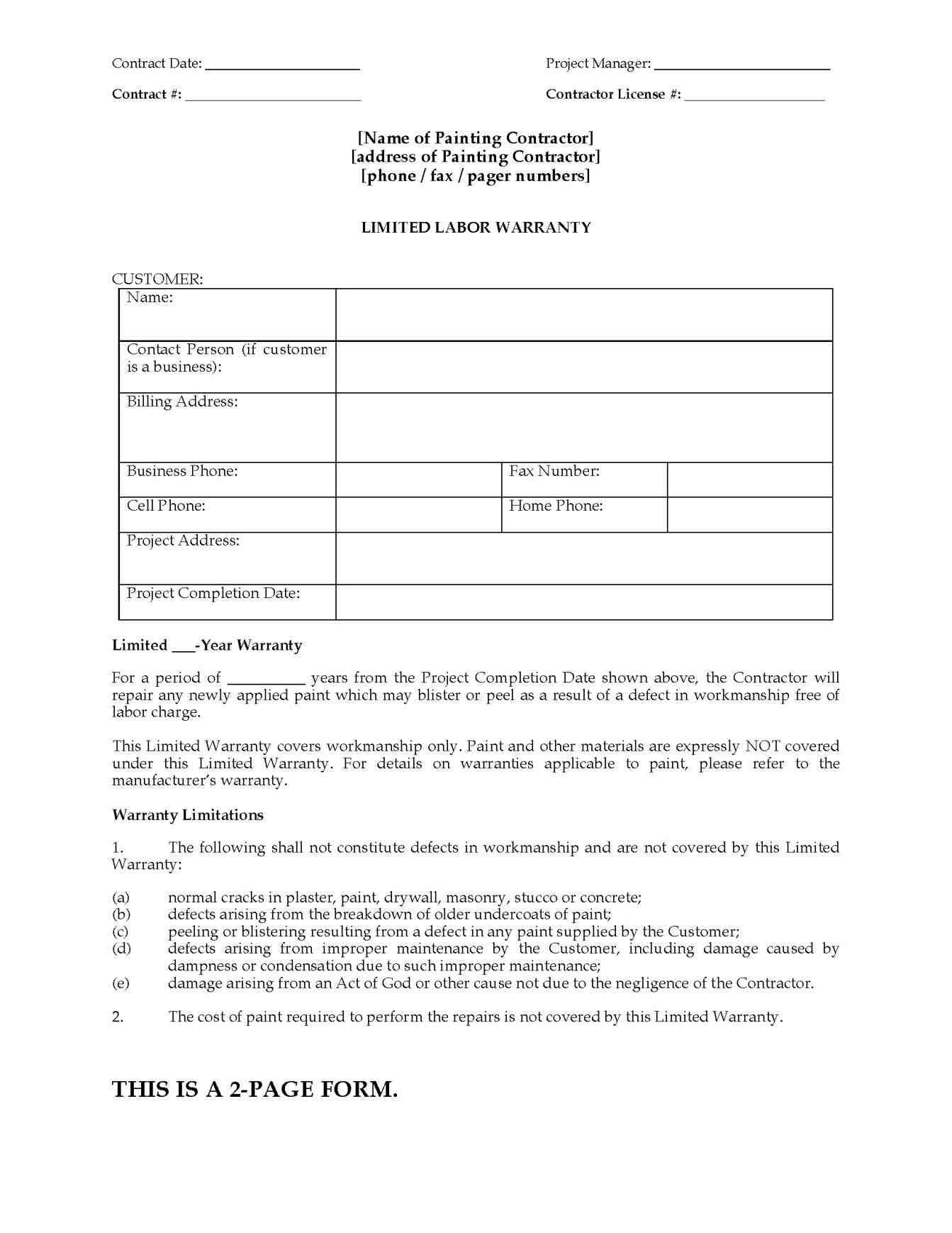 Subcontractor Warranty Letter Template - Free Example Letter Award Of Contract Letter Fresh Ranked Mercial