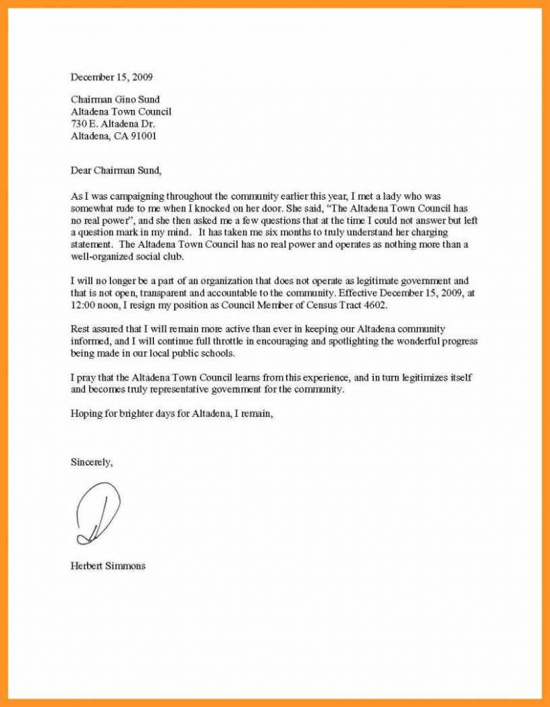 Prayer Letter Template Download - Free Example Letter format Of Resignation Letter Of Ca Copy