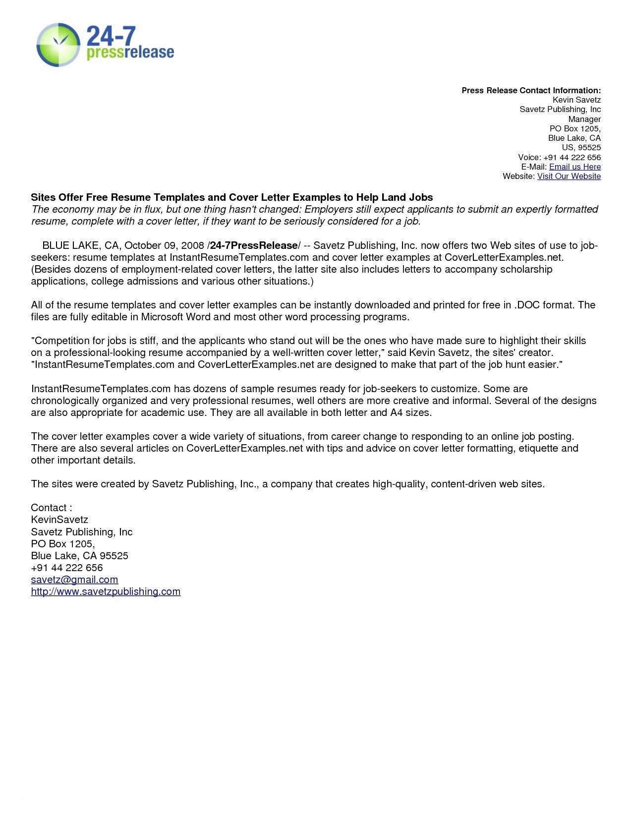 Microsoft Cover Letter Template - Free Microsoft Resume Templates Best Free Microsoft Resume