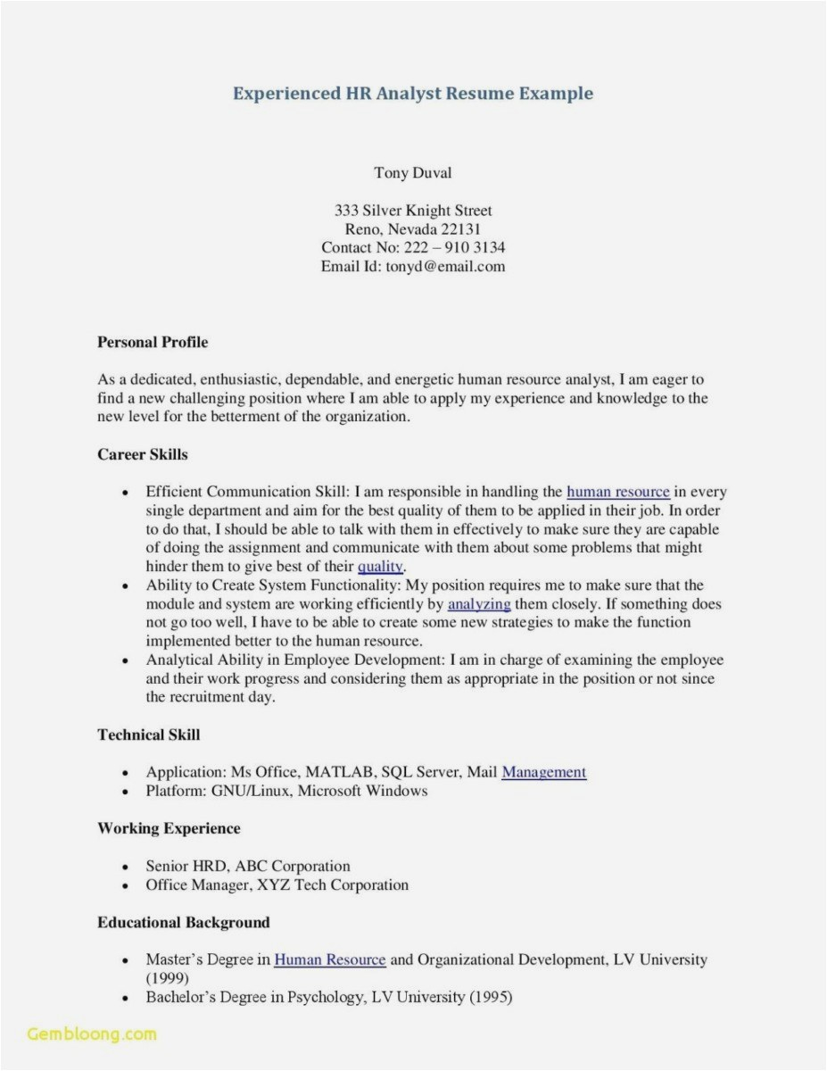 Patient Recall Letter Template - Free Resume Cover Letter Template format Lovely Curriculum Vitae