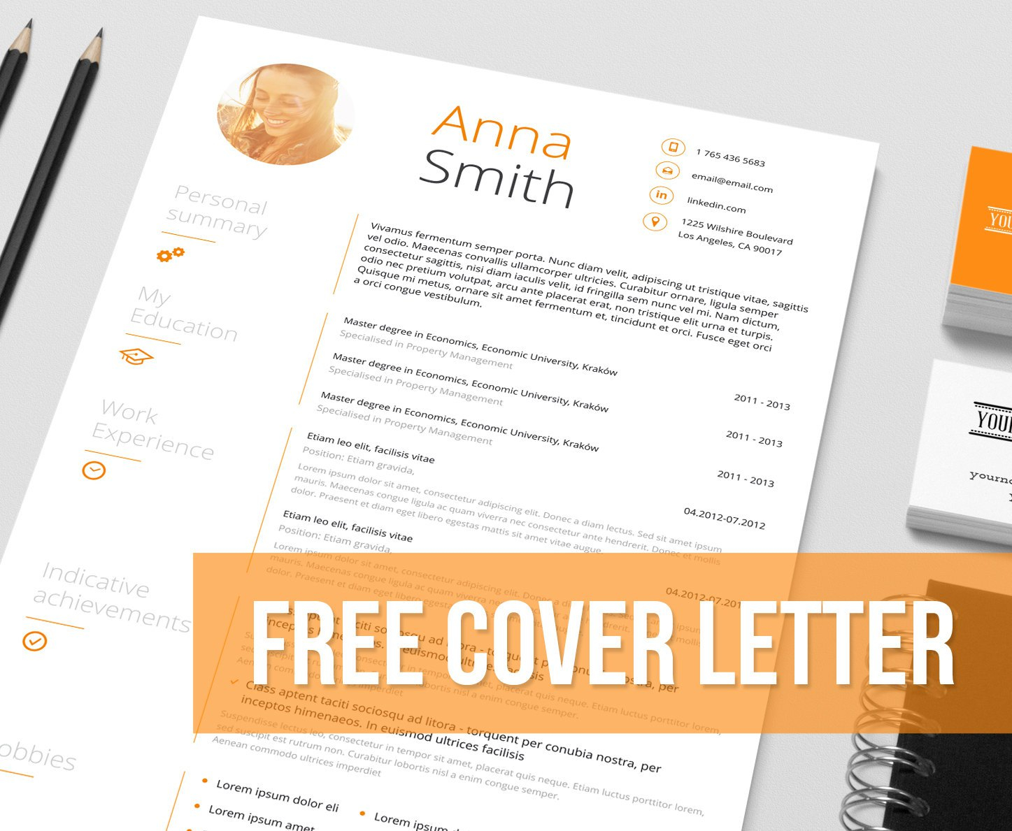 Creative Cover Letter Template Free Download Examples Letter
