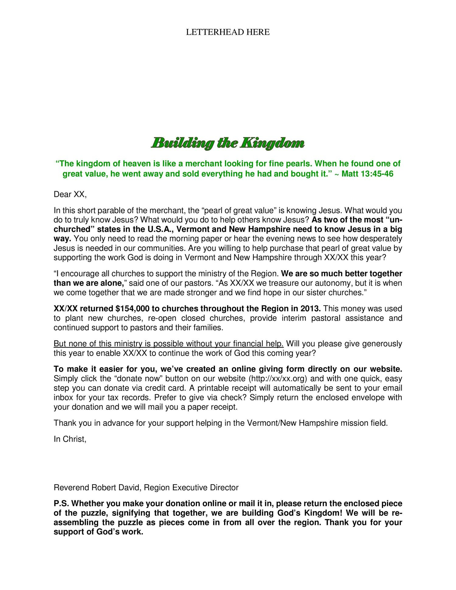 Fundraising Appeal Letter Template - Fundraising Appeal Letters to Grab attention and Get Results by