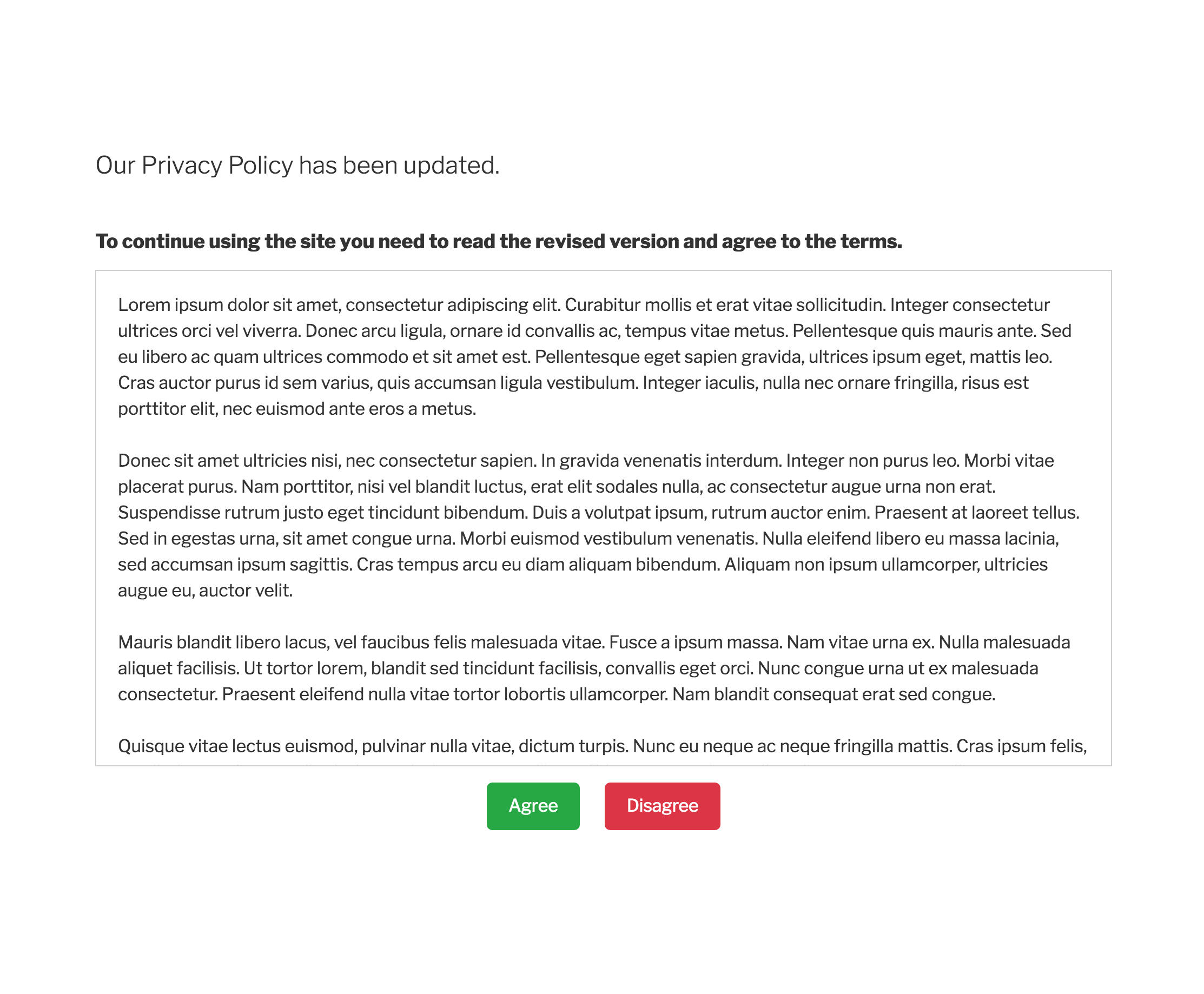 Gdpr Letter Template - Gdpr