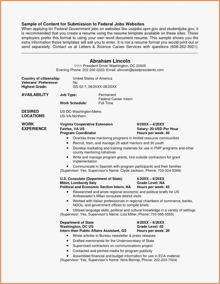 General Contractor Warranty Letter Template - General Contractor Resume Fresh 21 Federal Resume format