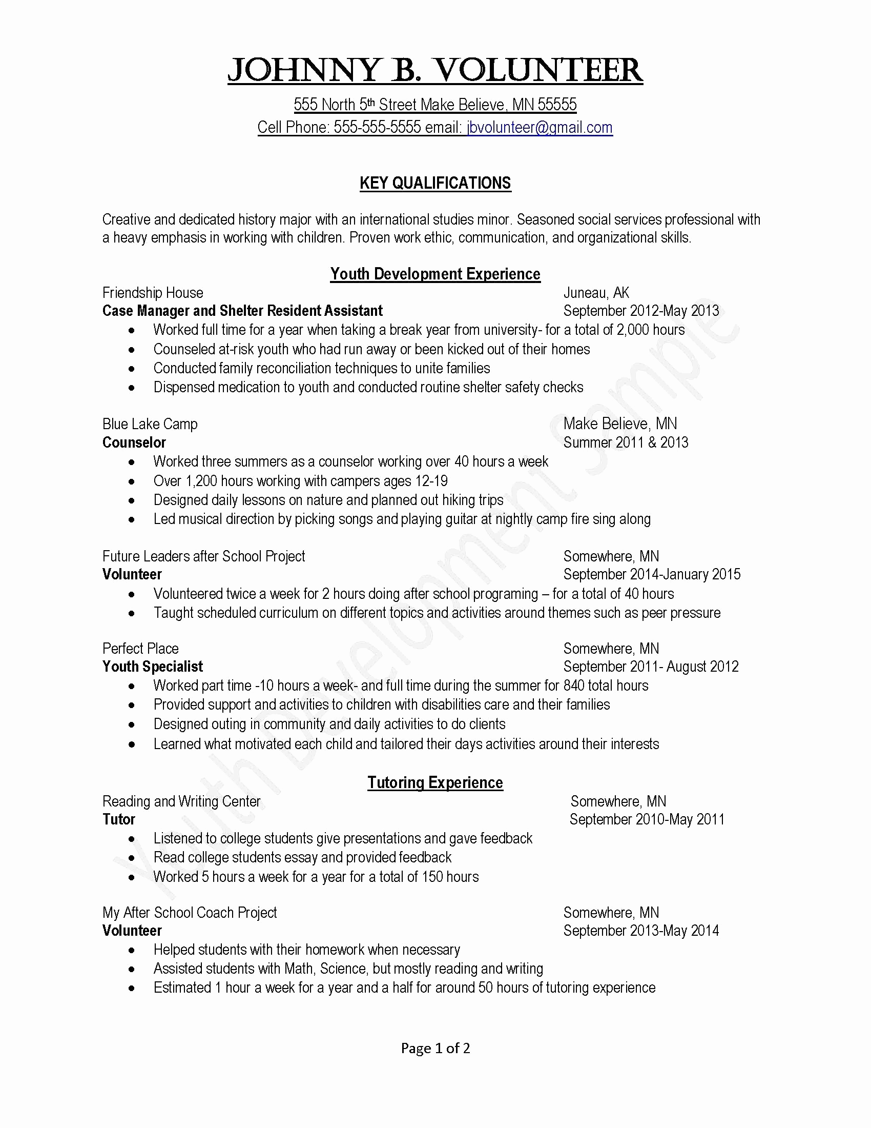 Volunteer Letter Template - Good Cover Letters for Jobs Unique Simple Cover Letter Template