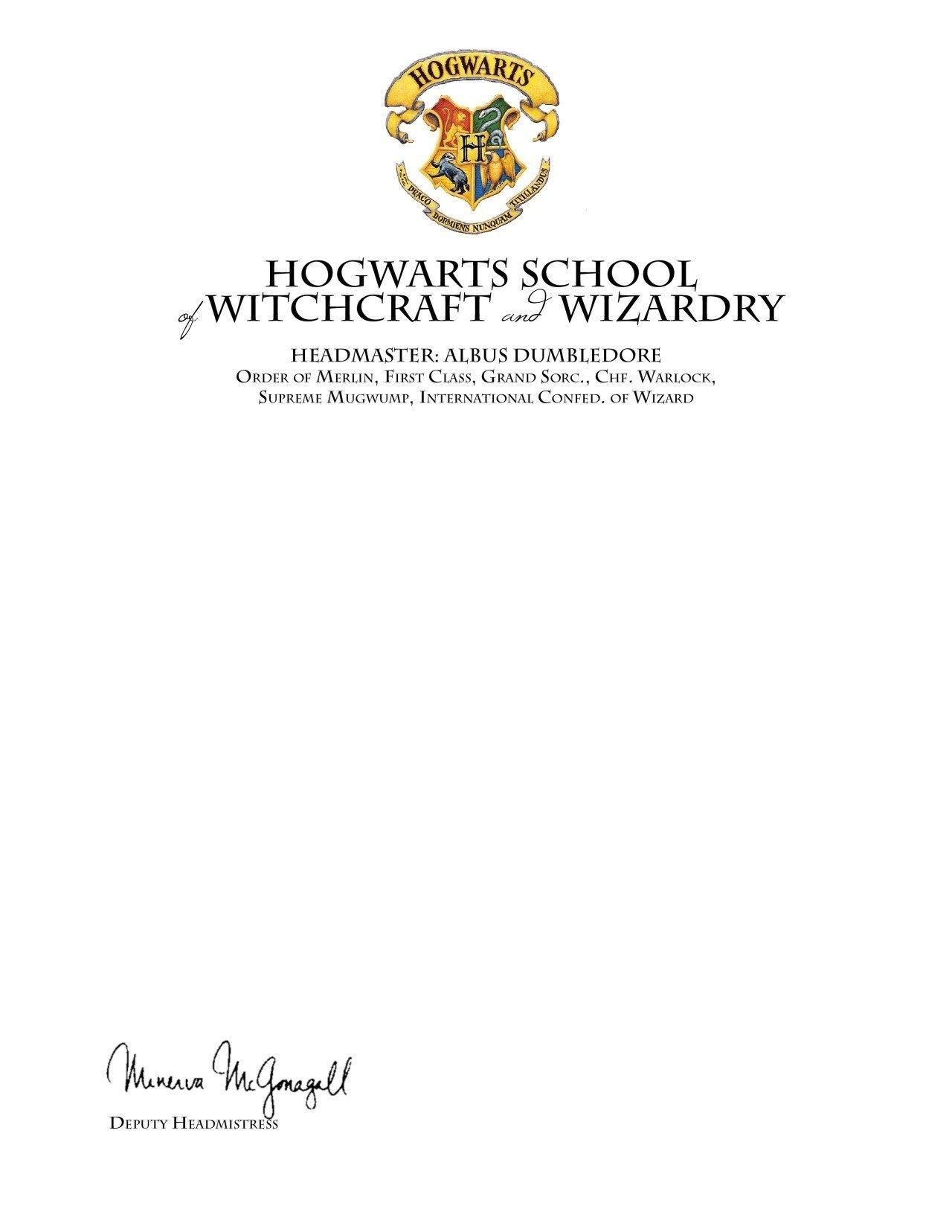 hogwarts acceptance letter template hogwarts letter template free new harry potter hogwarts acceptance