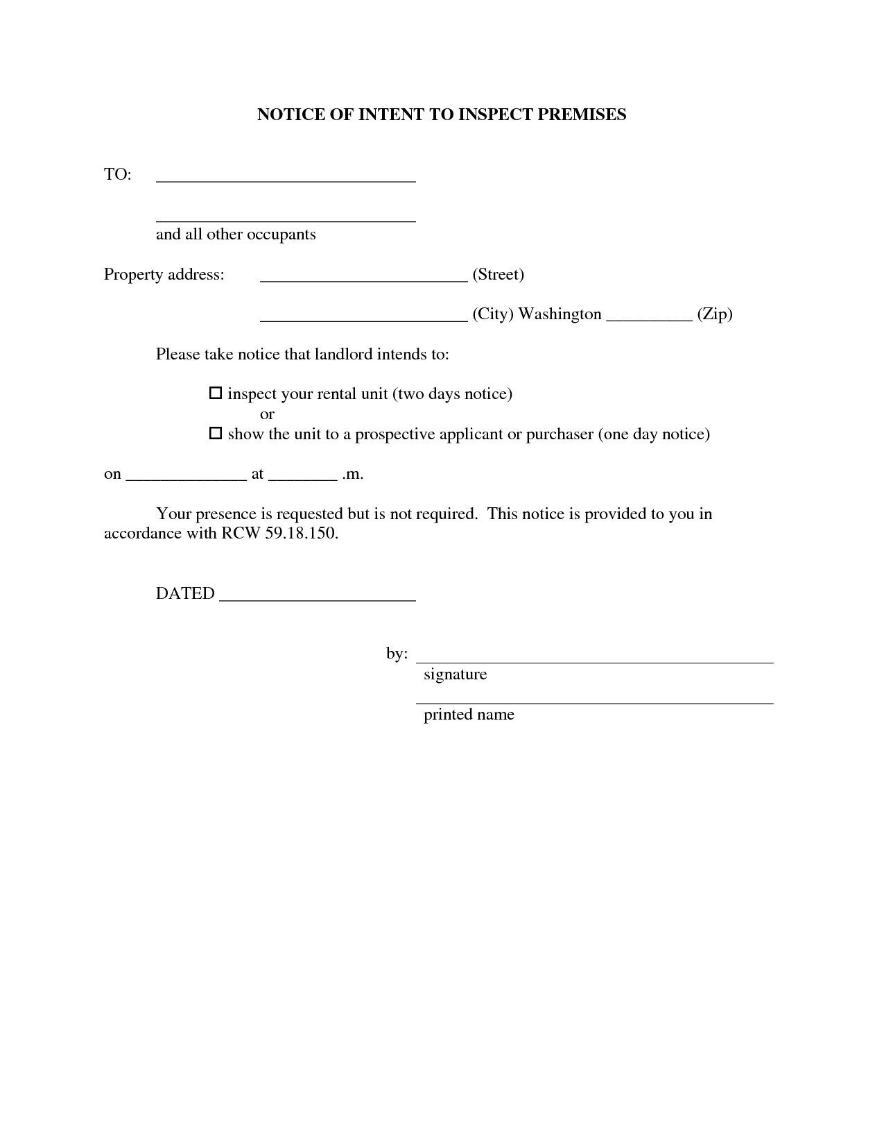 Property Inspection Letter to Tenant Template - Home Inspection Contracts Agreements Best Property Inspection