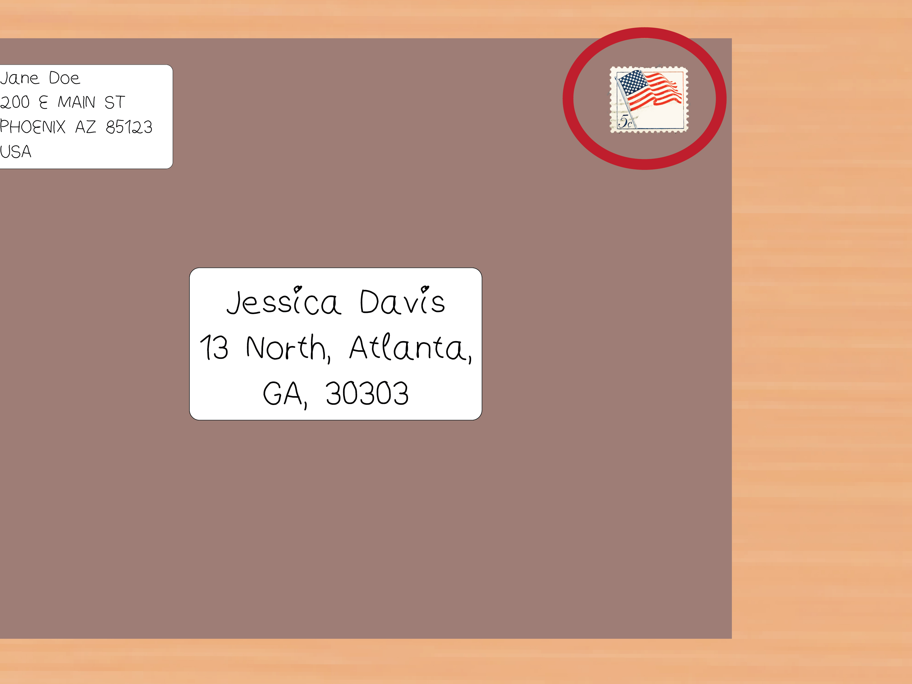Letter Envelope Address Template - How to Address Clasp Envelopes 12 Steps with Wikihow