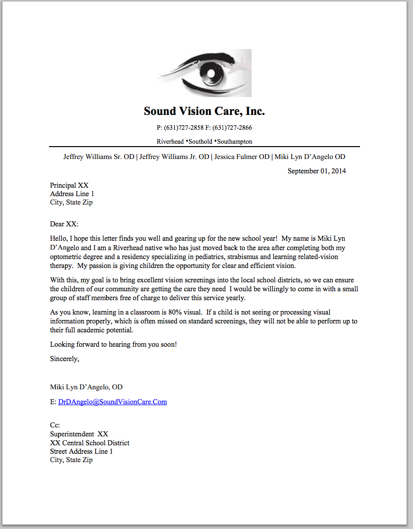Sample Doctor Referral Letter Template - How to Get Referrals to Your Vision therapy Practice