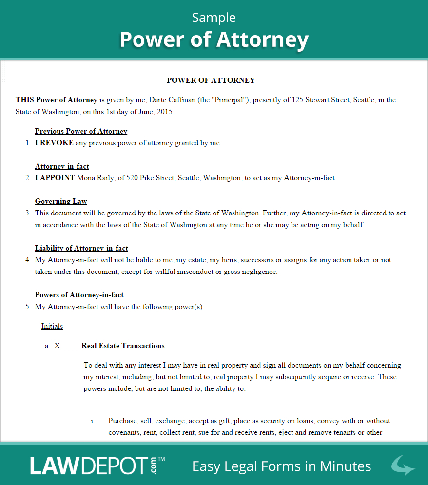 Power Of attorney Letter Template - How to Make Power Of attorney Letter Acurnamedia