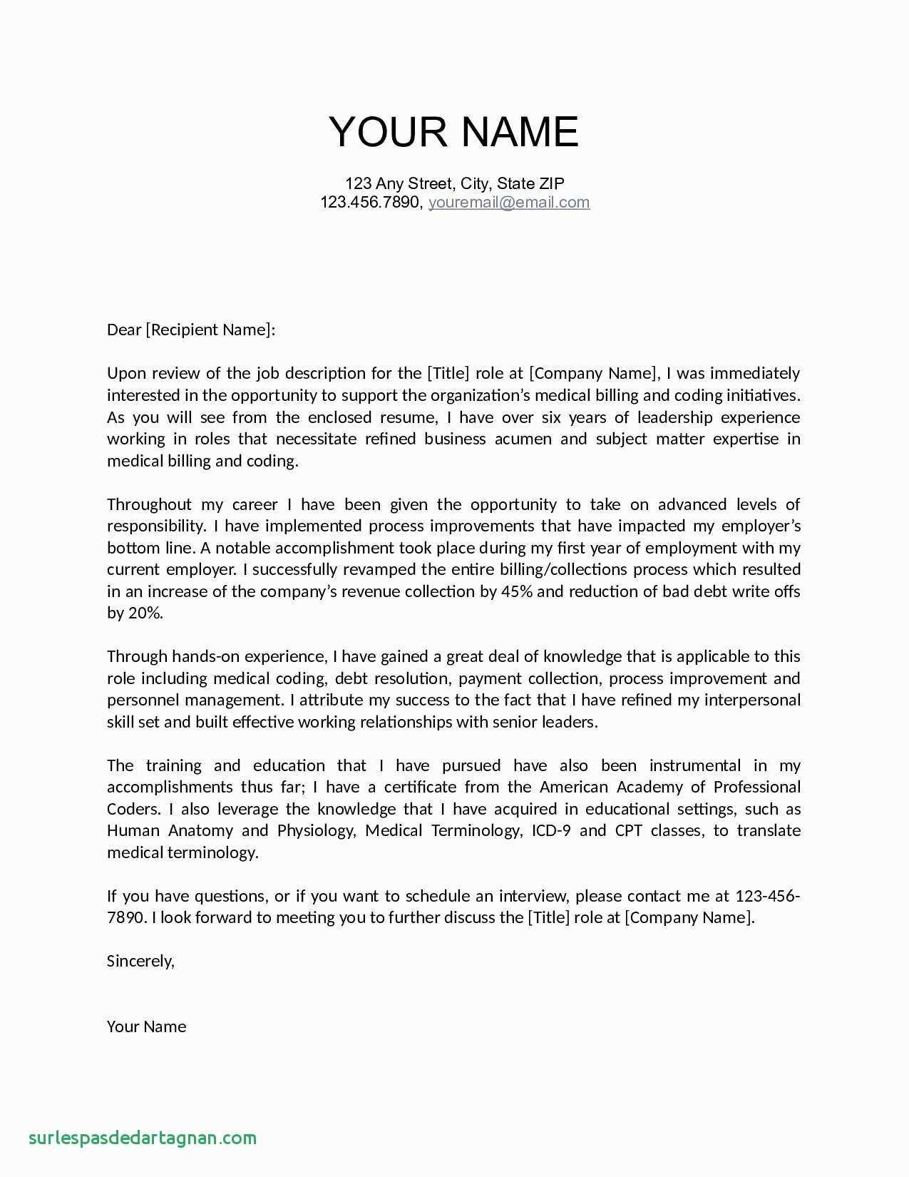 How to Make A Cover Letter Template - How to Make Resume for Job Beautiful Fresh Job Fer Letter Template