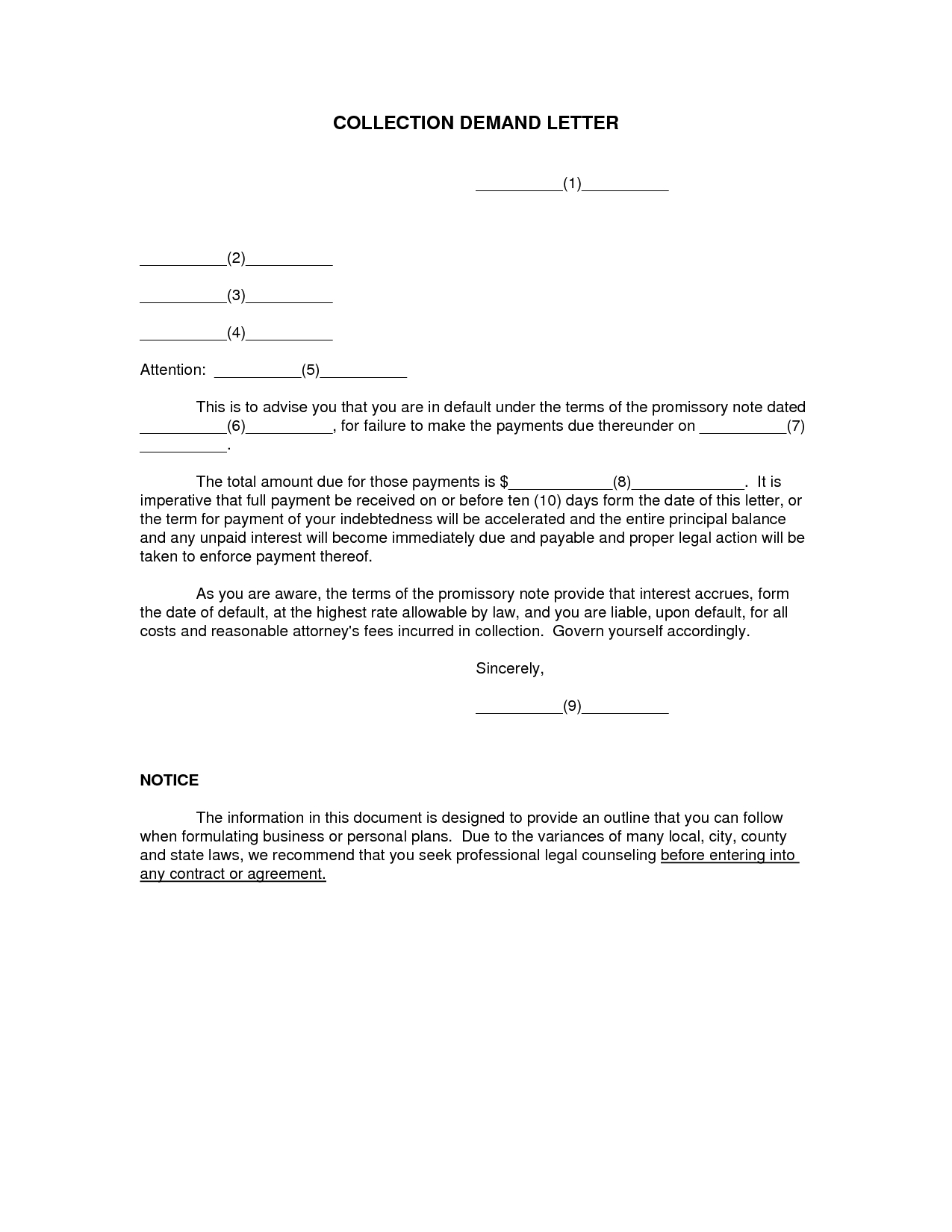 Demand Letter Template Texas - How to Write A Demand for Payment Letter Letter format