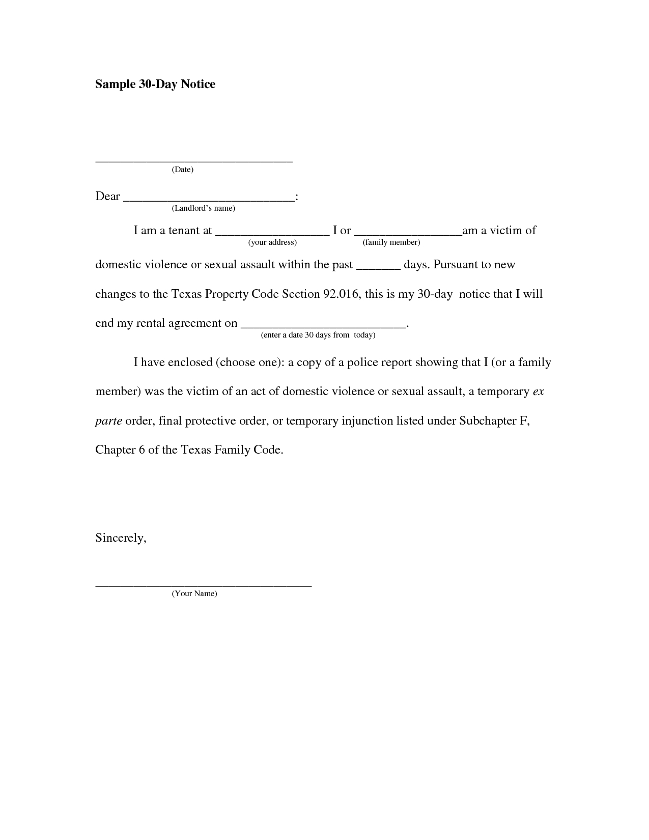 Assisted Living 30 Day Notice Letter Template - How to Write A Eviction Letter to A Family Member Letter