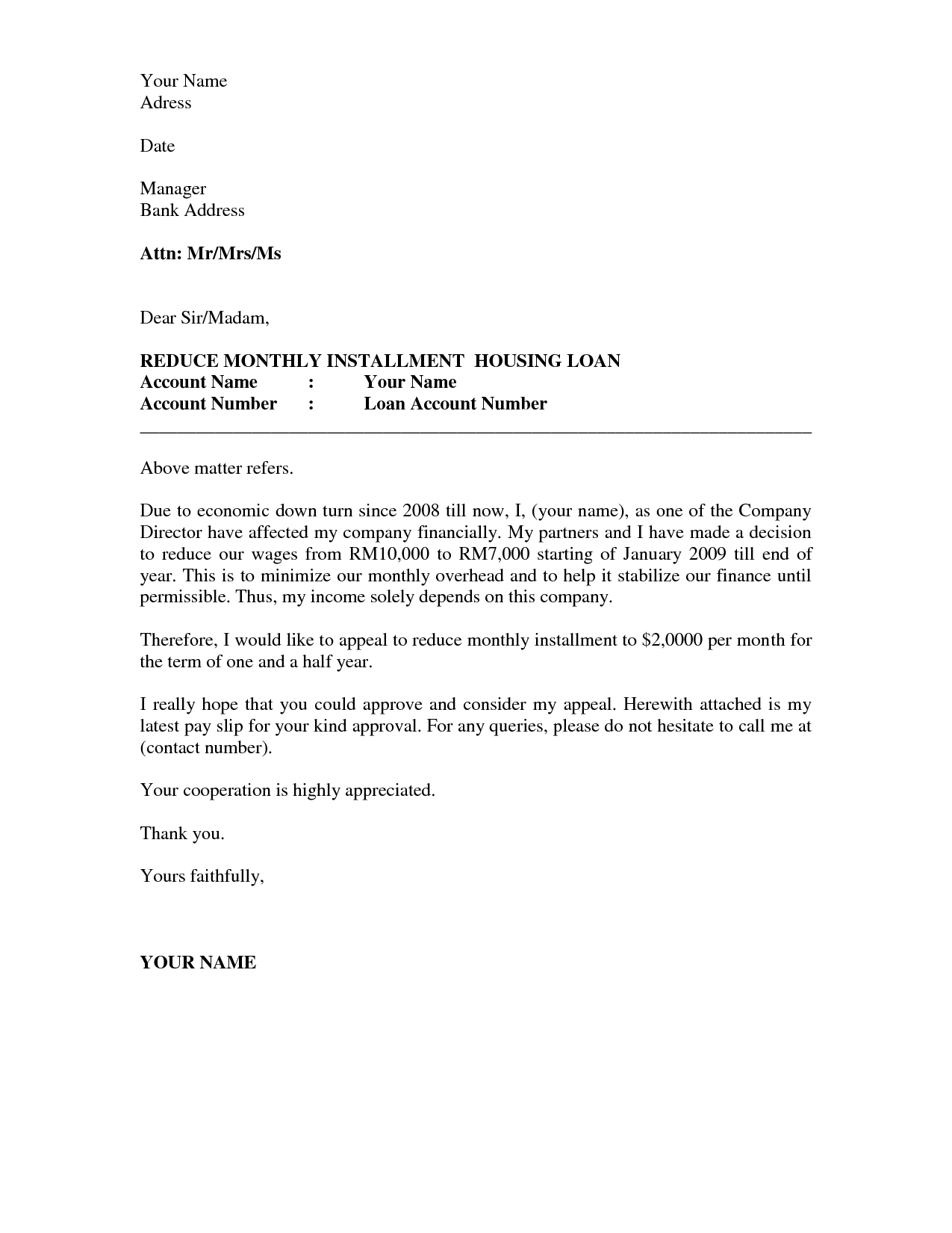 Formal Petition Letter Template - How to Write A Good Appeal Letter Acurnamedia