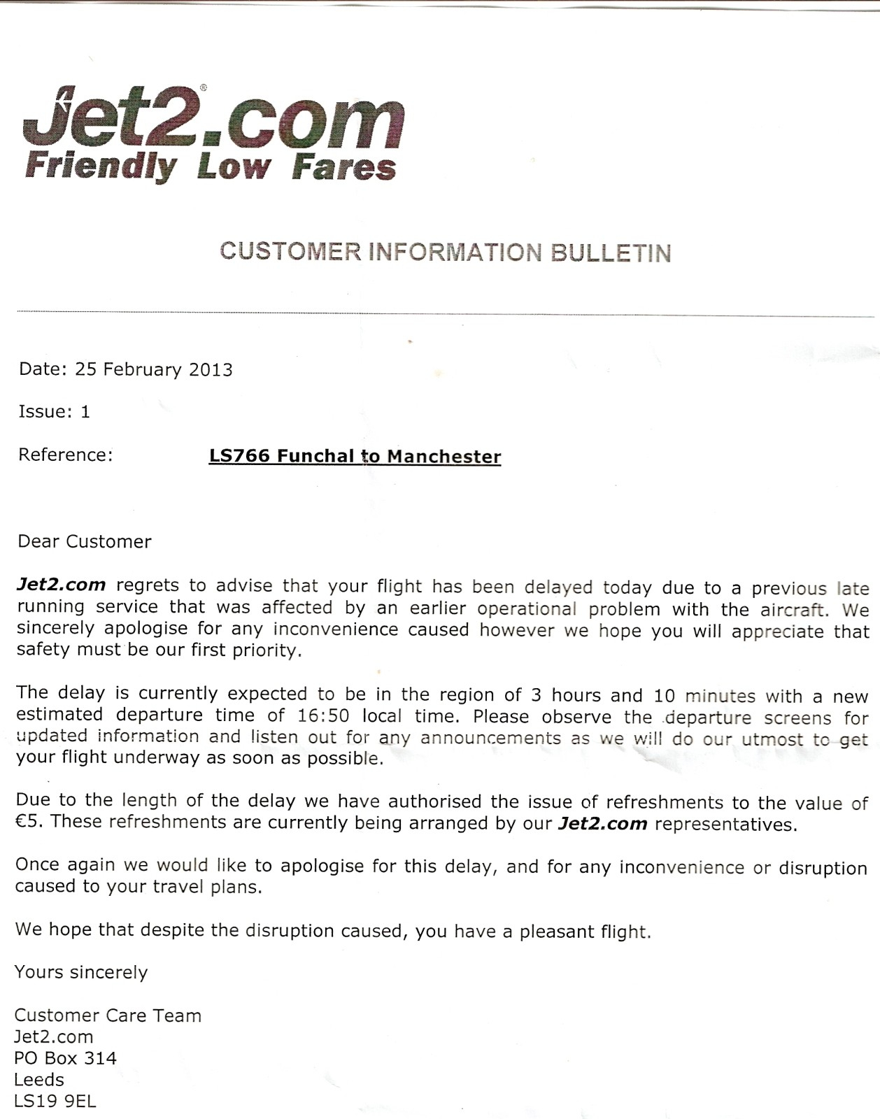 Flight Delay Compensation Letter Template - How to Write A Plaint Letter to Airline Gallery Letter format
