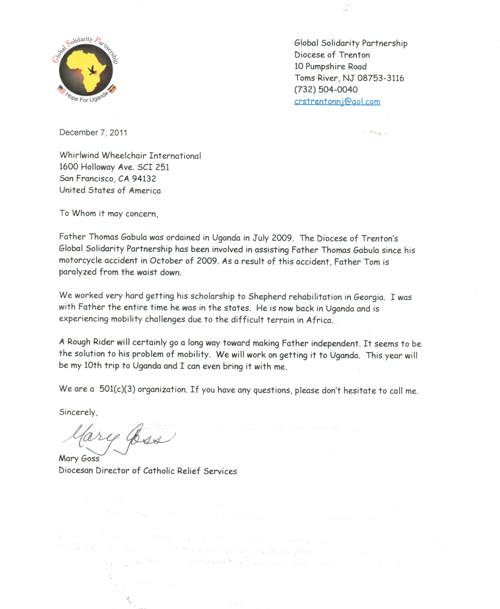 Missionary Support Letter Template - How to Write A Support Letter for A Mission Trip Choice Image