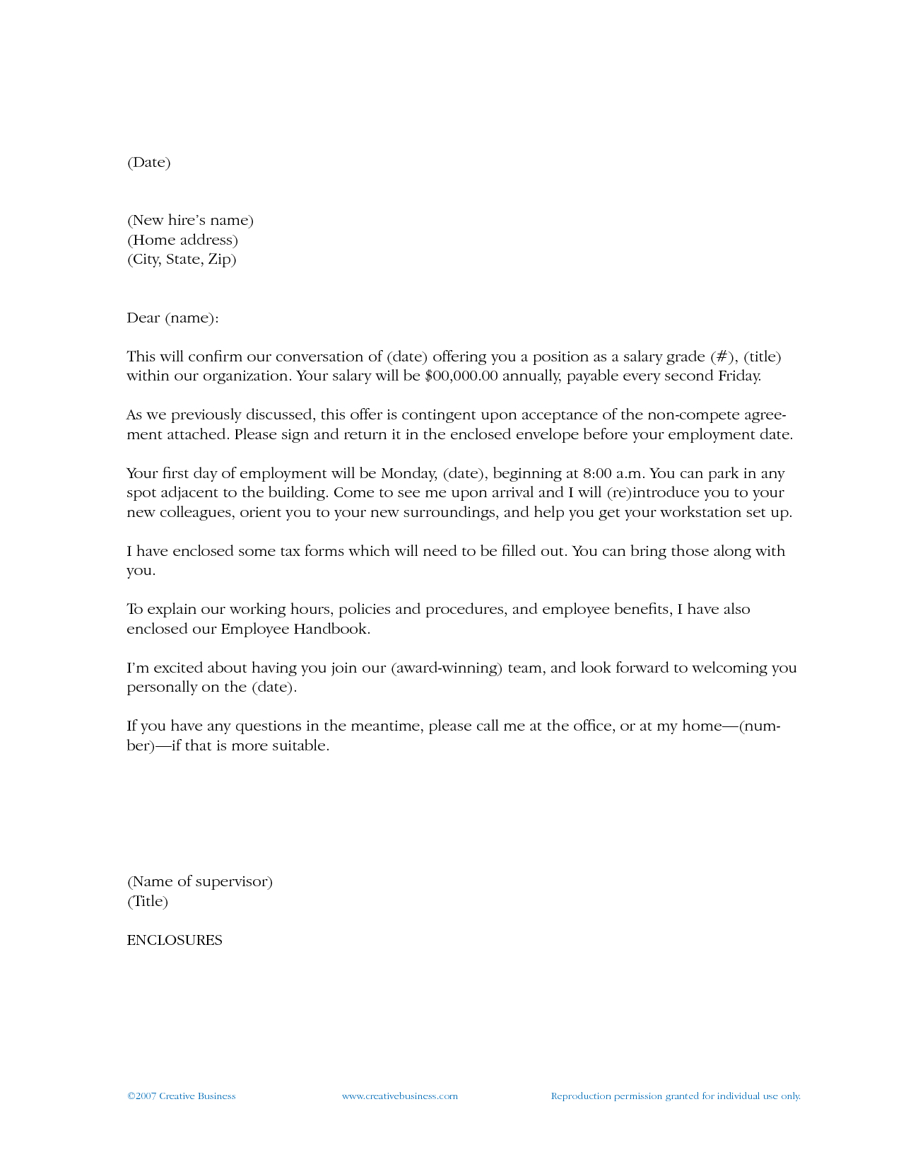 New Employee Welcome Letter Sample Template - How to Write A Wel E Letter to A New Employee Letter