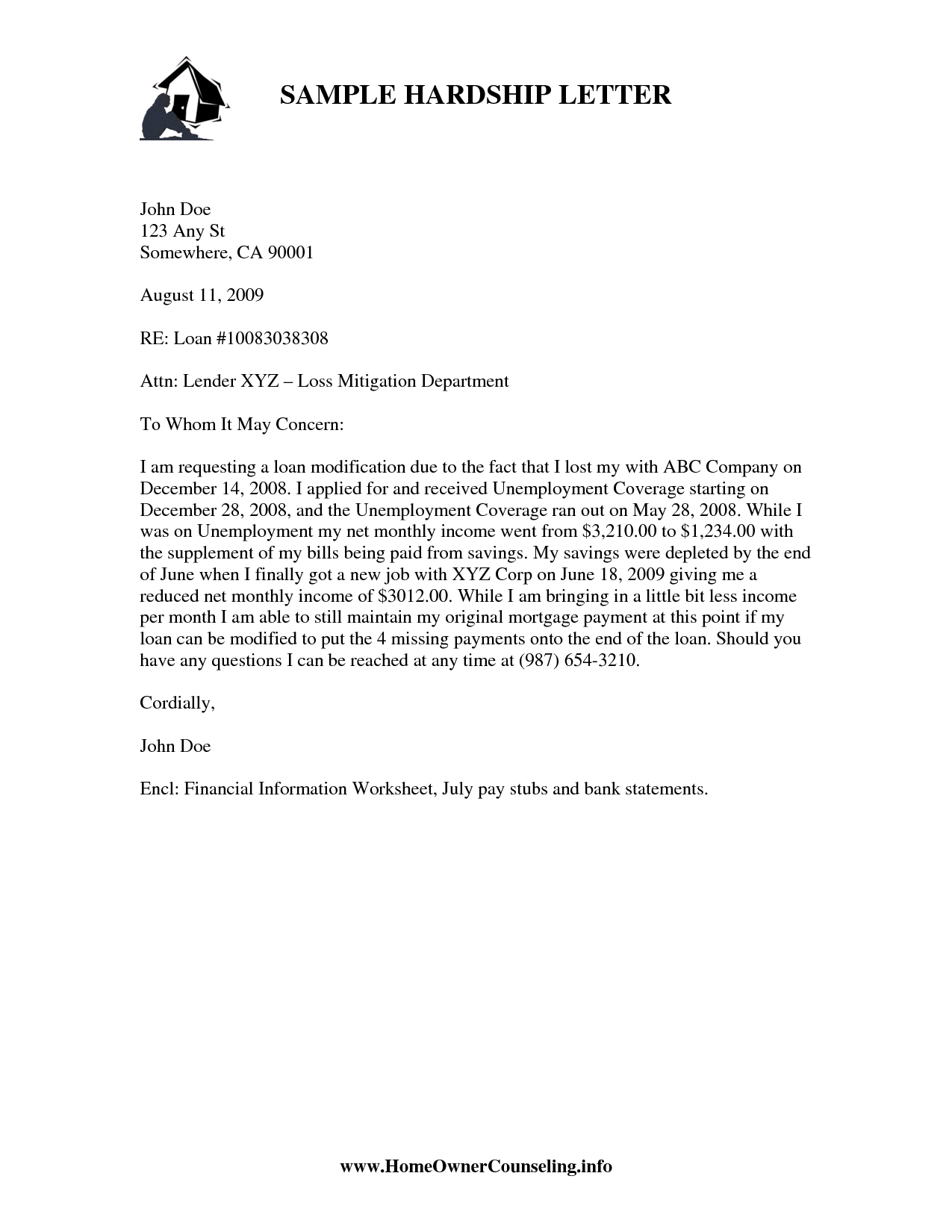 401k Hardship Letter Template - How to Write Mitigation Letter Image Collections Letter format