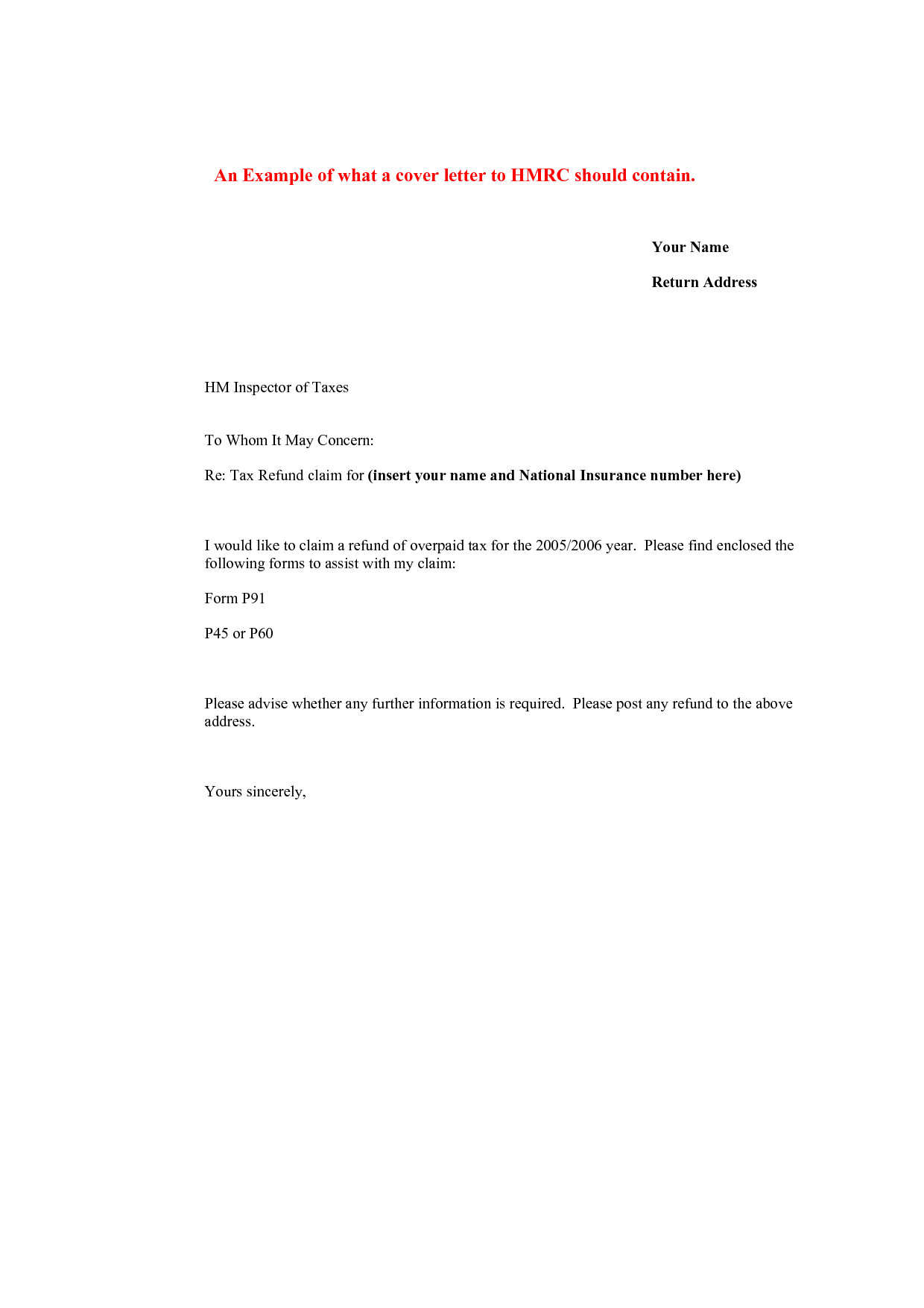 Refund Demand Letter Template - Image Result for Pany Letter Requesting A Tax Refund Example
